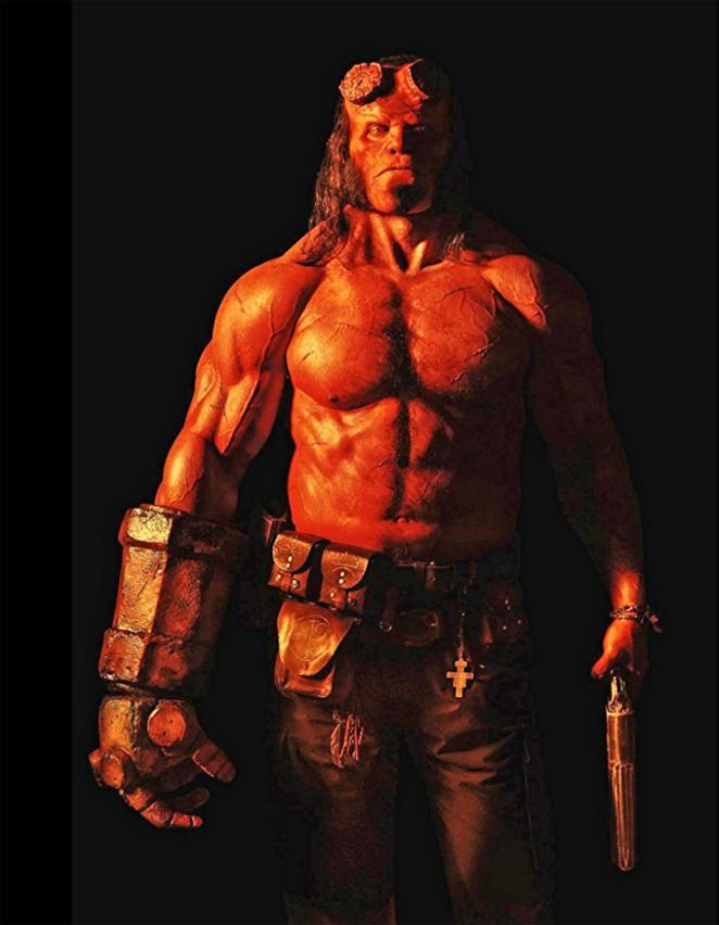 The actor played the lead role of Hellboy in the 2019 film