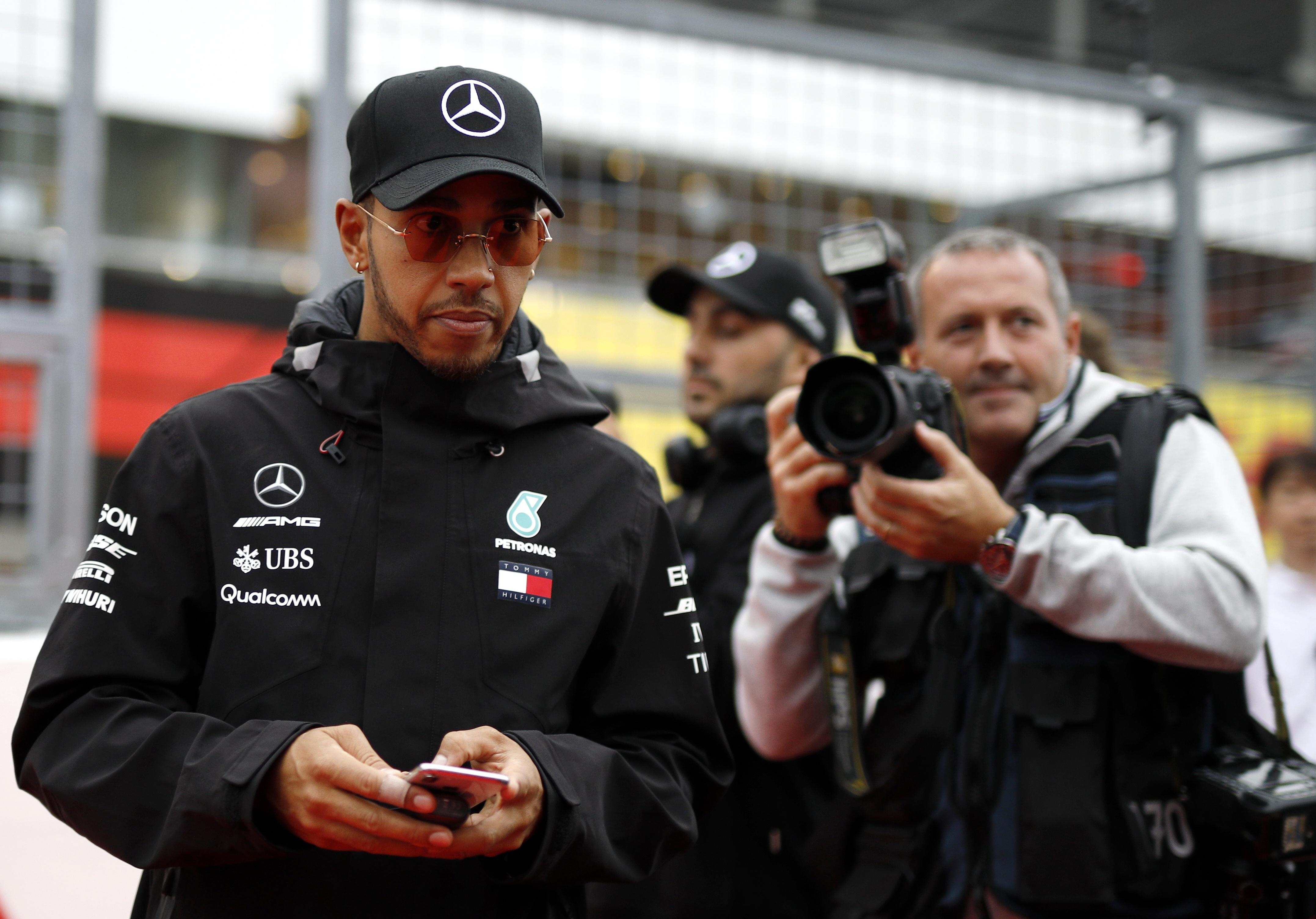 Lewis Hamilton will be aiming to extend his title lead in Japan