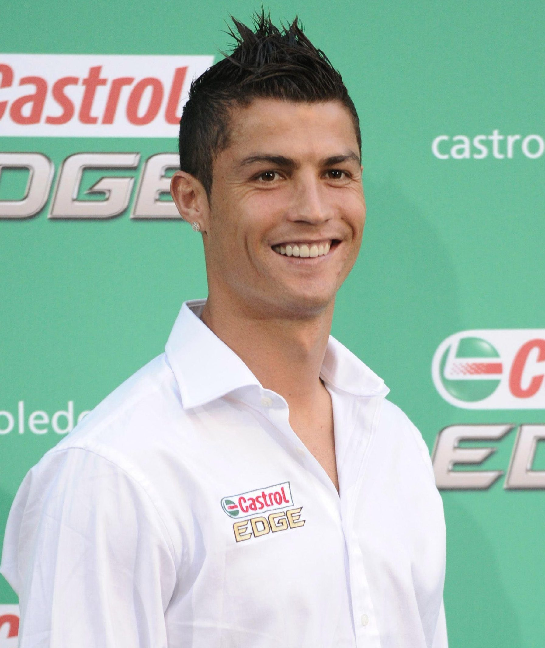 A cool £3.4million is coming Ronaldo's way from Castrol