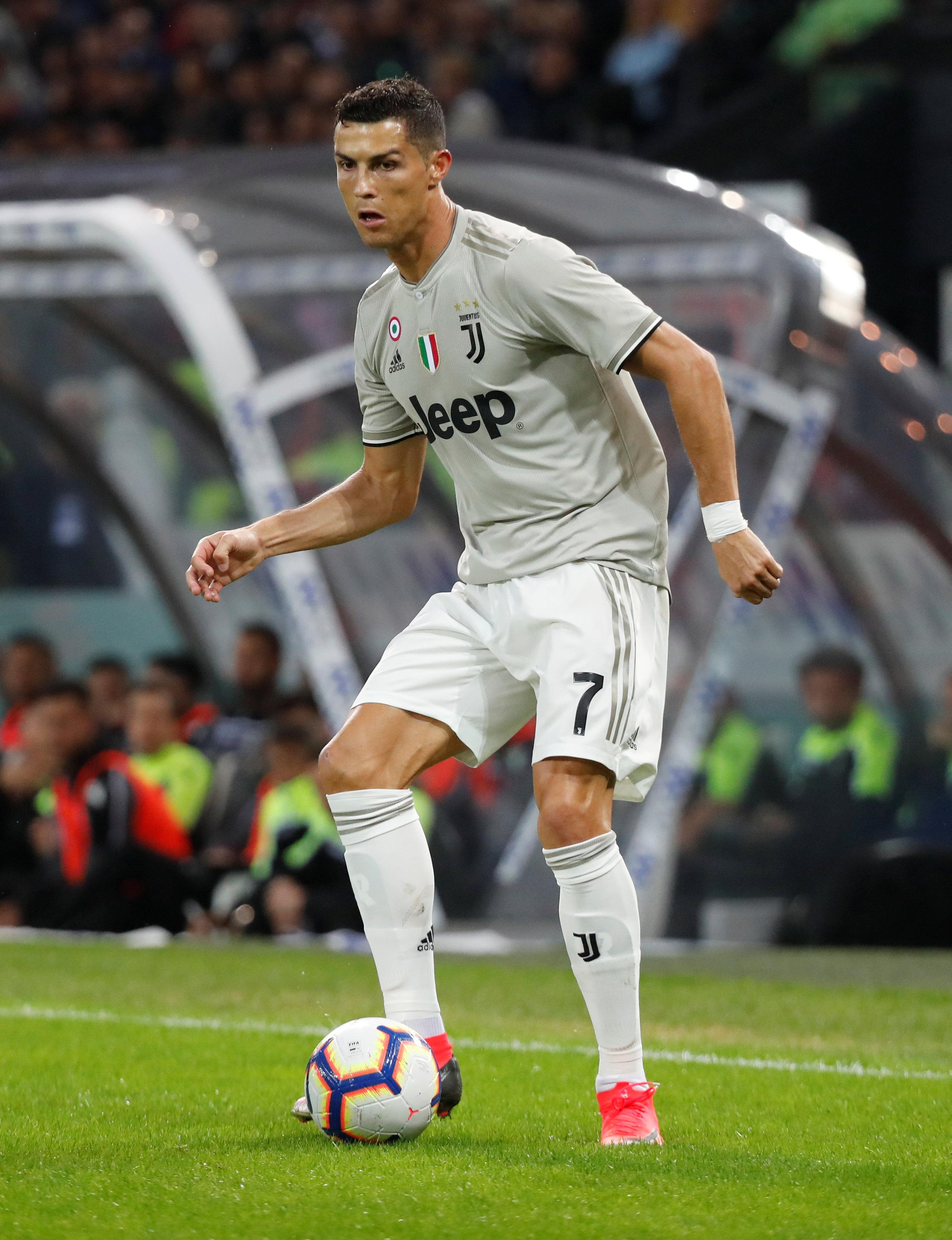 Cristiano Ronaldo denied claims of romping with a 17-year-old prostitute at centre of Silvio Berlusconi's 'bunga bunga' sex scandal