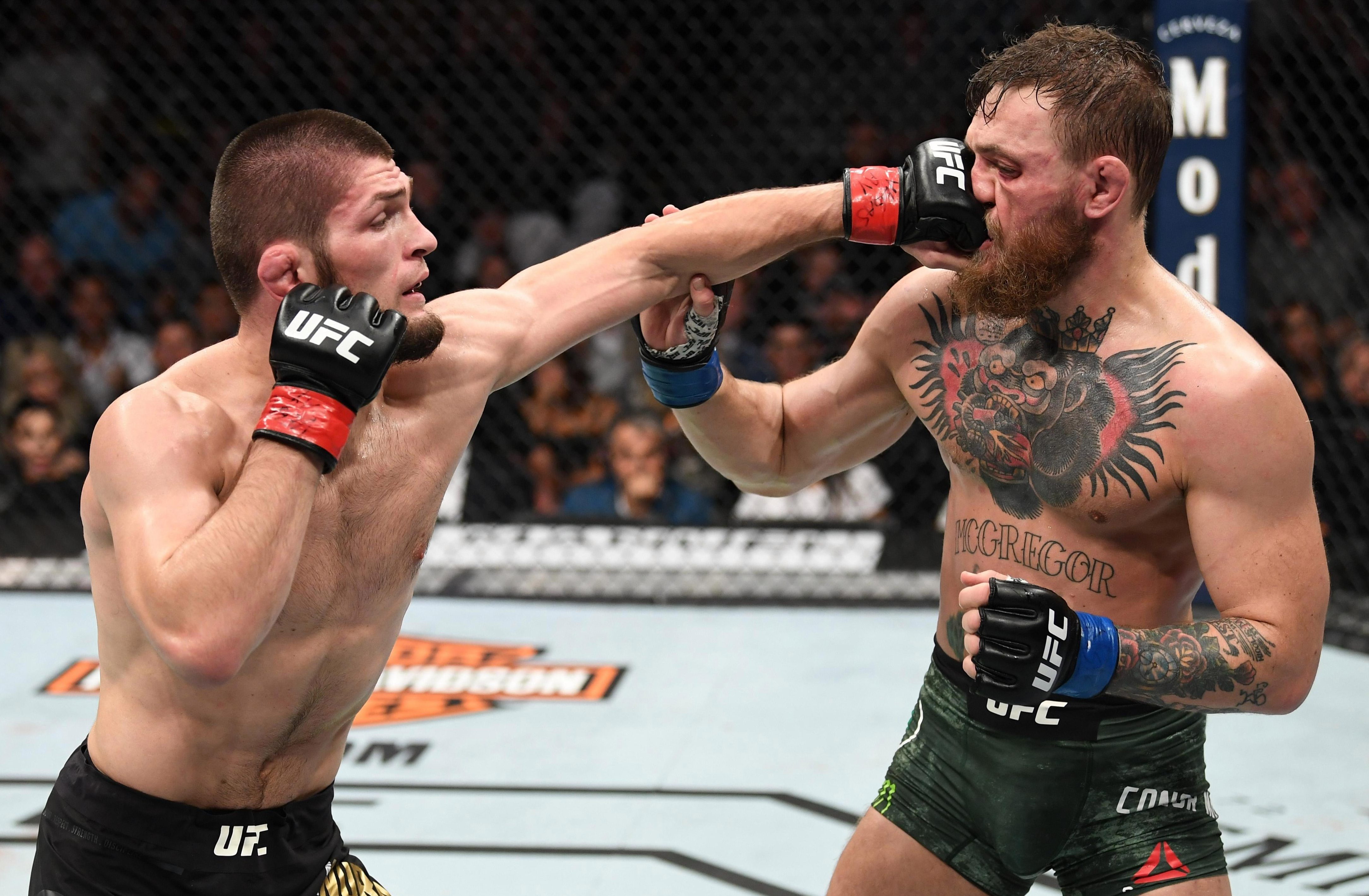 Khabib, 30, proved to be a level above McGregor at the T-Mobile Arena