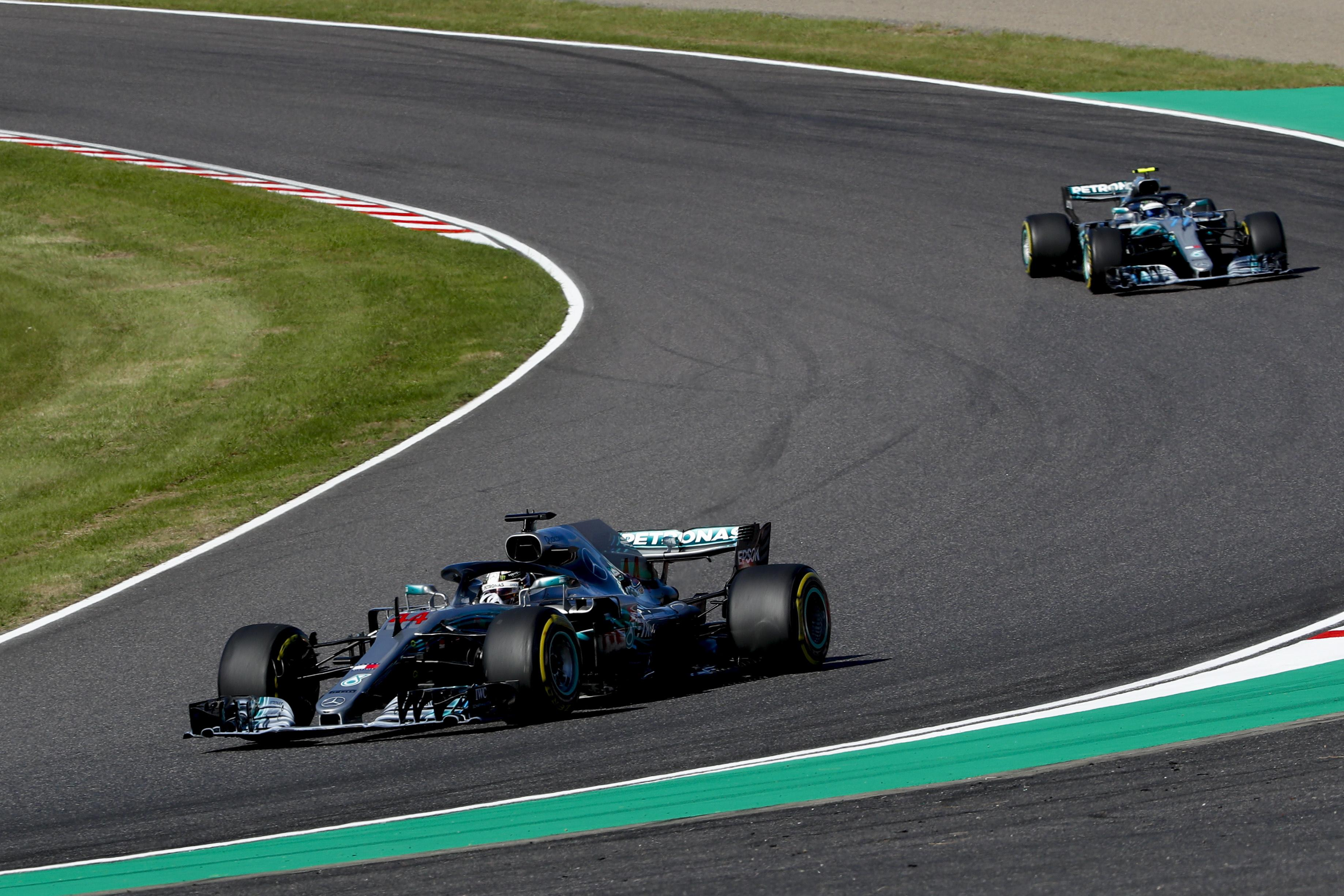 It was a Mercedes one-two once again as Valtteri Bottas finished second