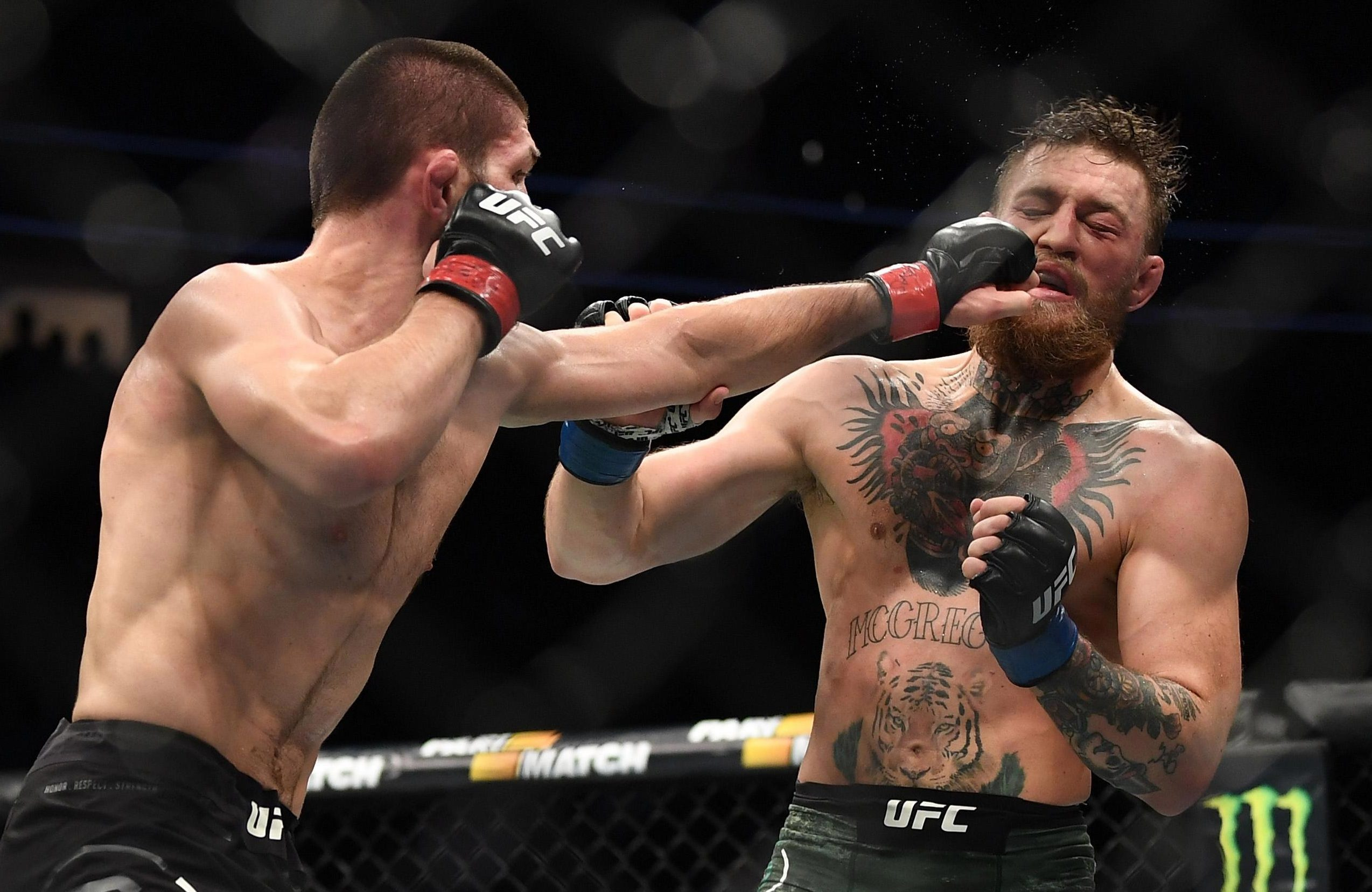 Conor McGregor was taught a lesson in the octagon by Khabib Nurmagomedov at the weekend