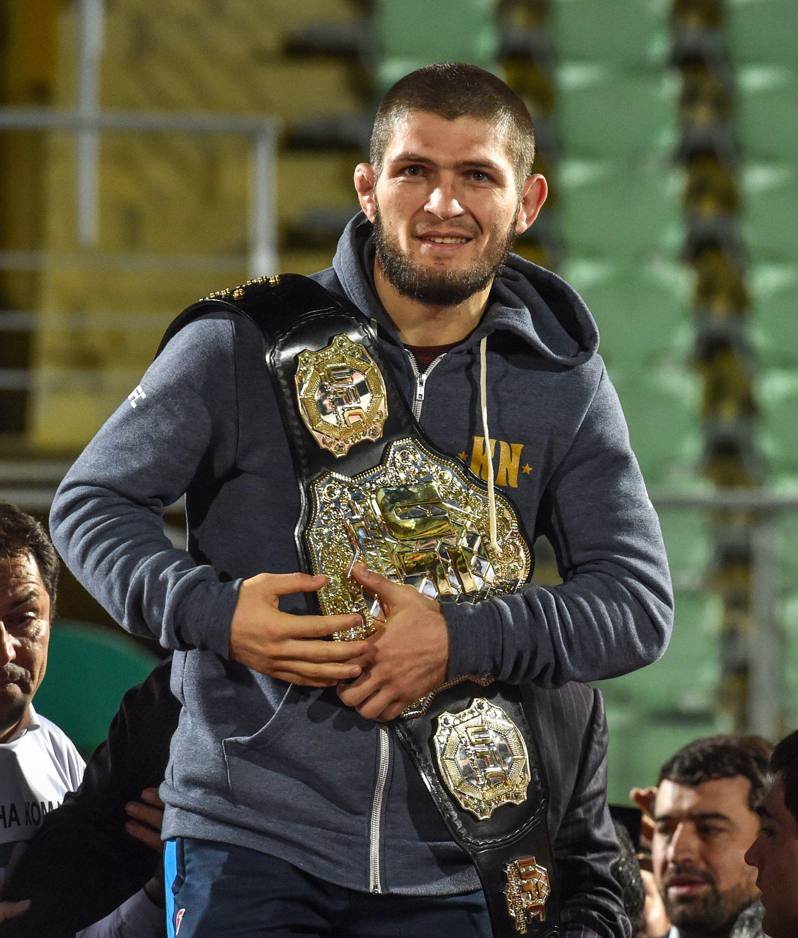 Khabib Nurmagomedov is set to take on Floyd Mayweather and Conor McGregor, his manager has suggested