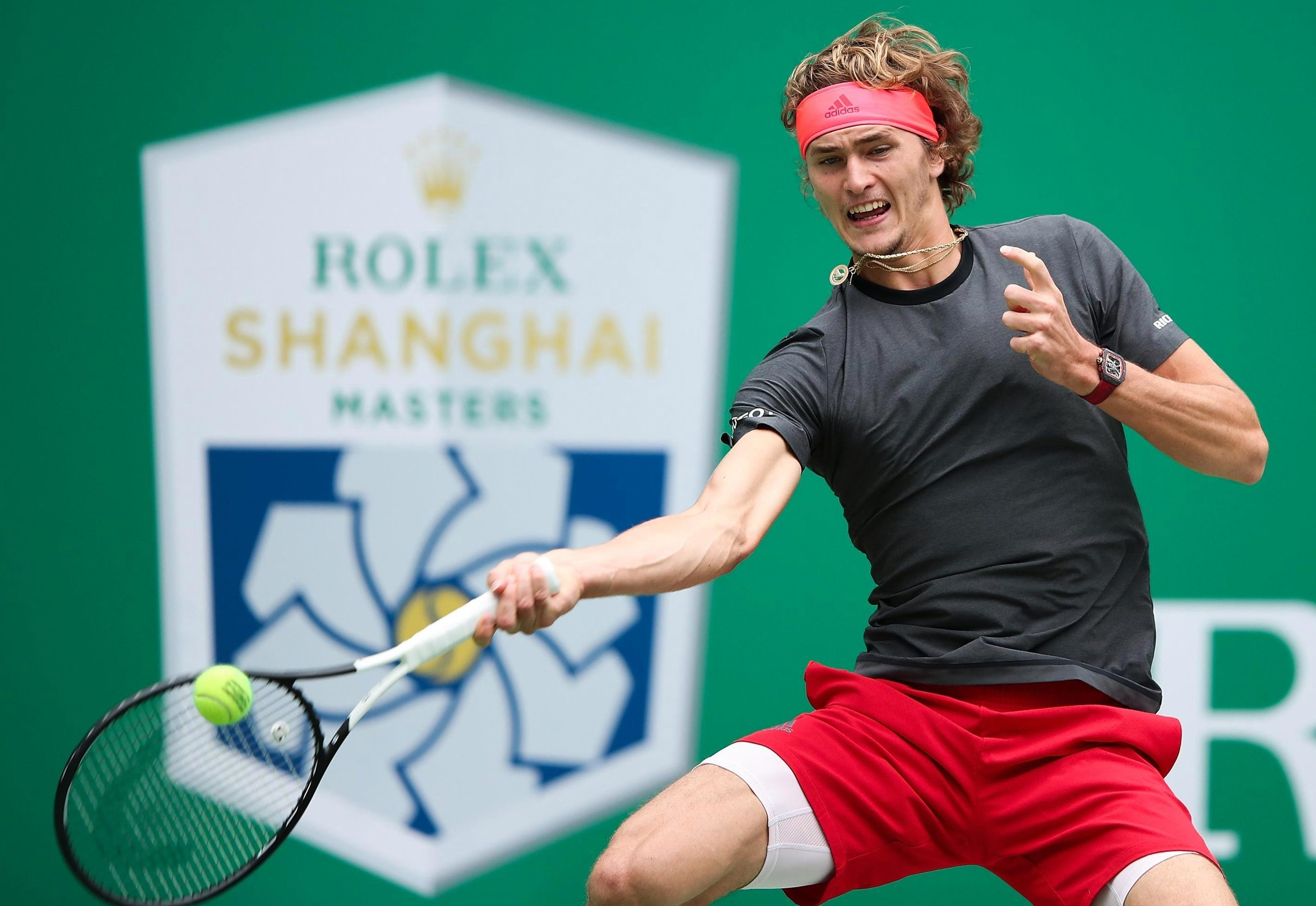 The 21-year-old German is one of the hottest prospects in men's tennis and is the fourth seed for the tournament