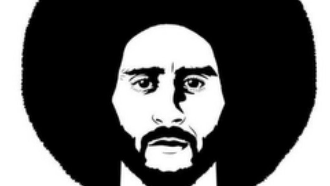 The image of Kaepernick's head and afro is sported in his new trademark application