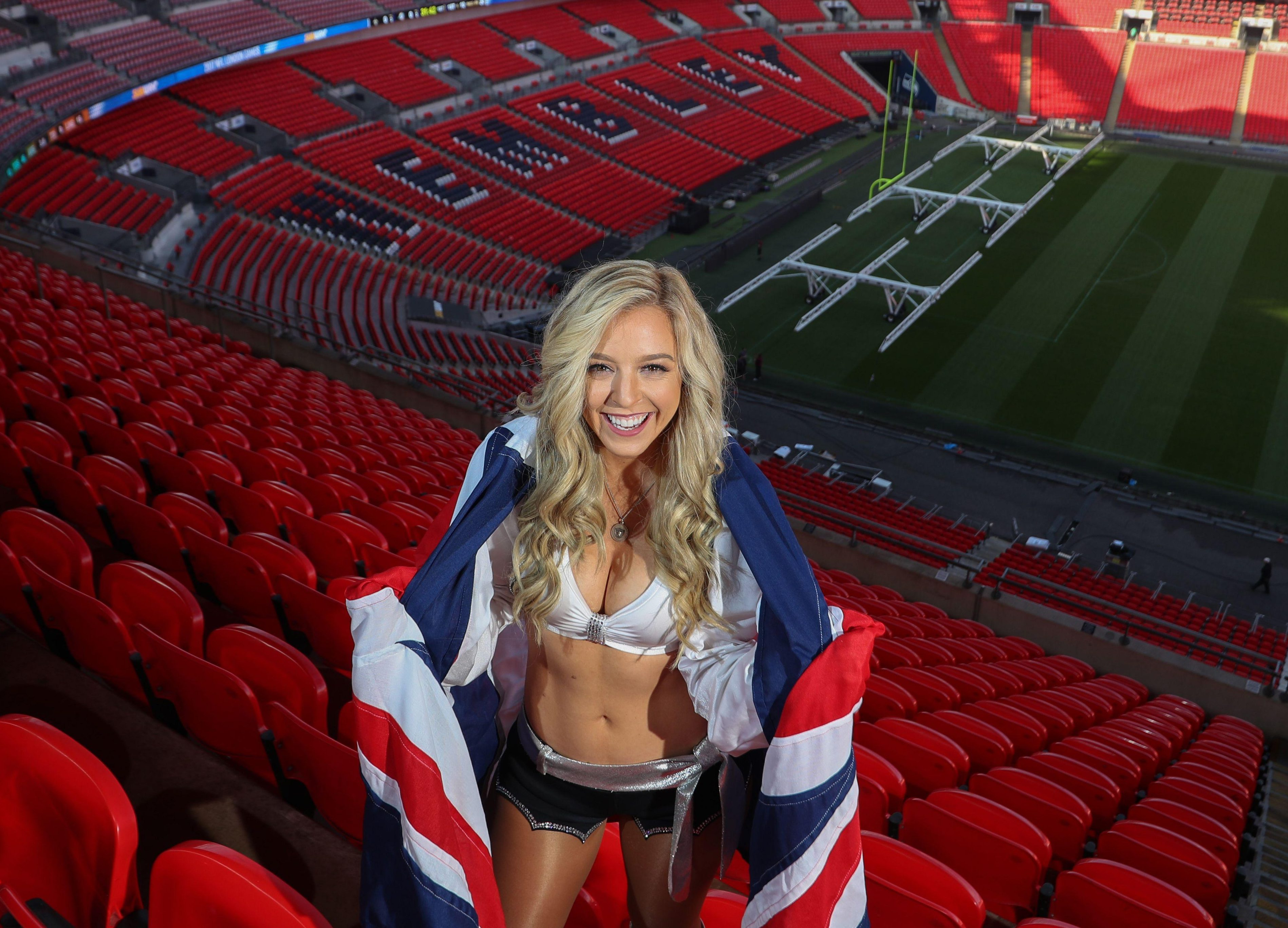 The Raiderettes will be hoping the Oakland Raiders can banish their London form