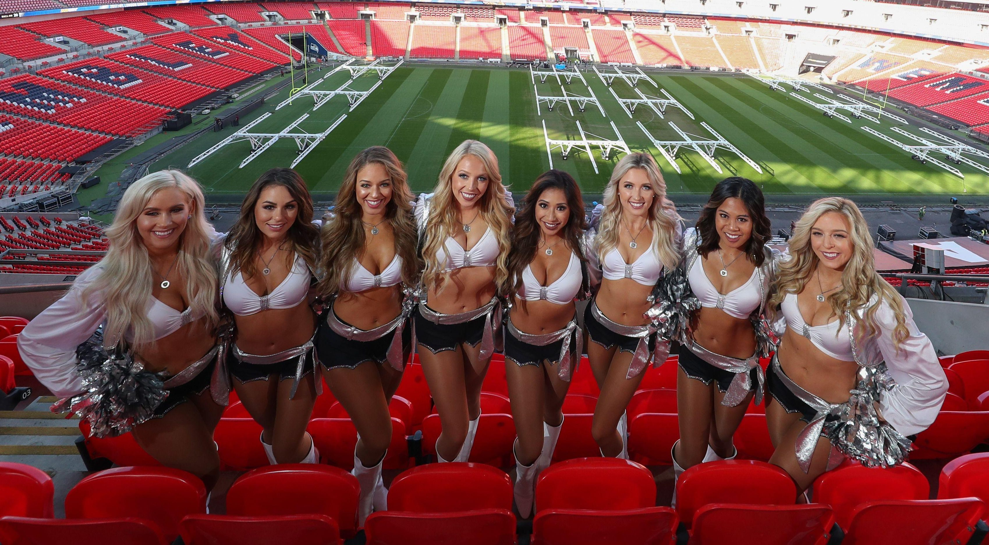Wembley is hosting three NFL games as part of its International Series