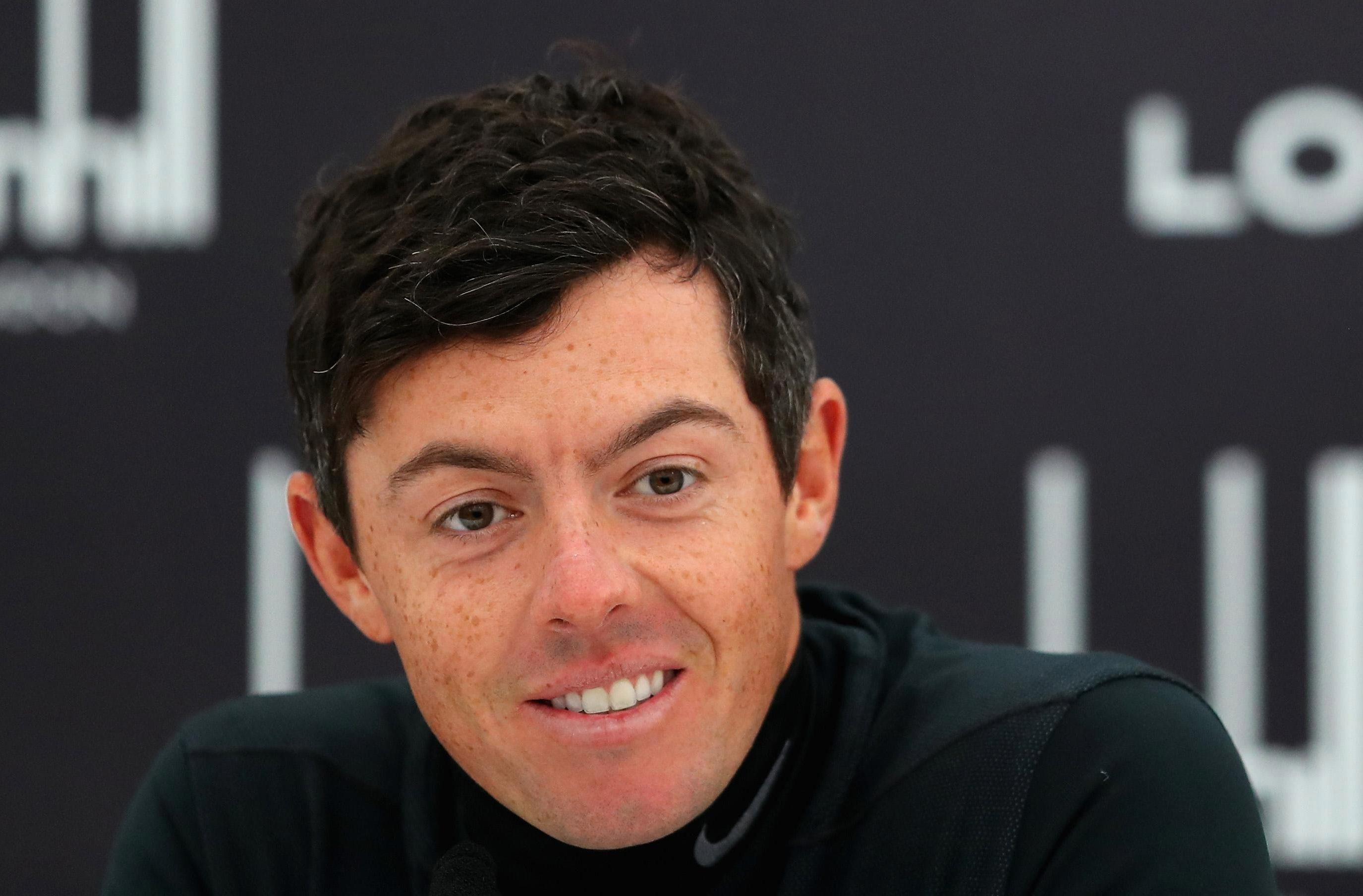 Rory McIlroy might see the funny side if he sees the photo of his female look-alike apparently getting married in the 1960s