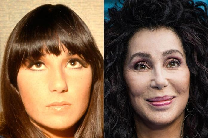Cher has tried to turn back time and keep her look fresh