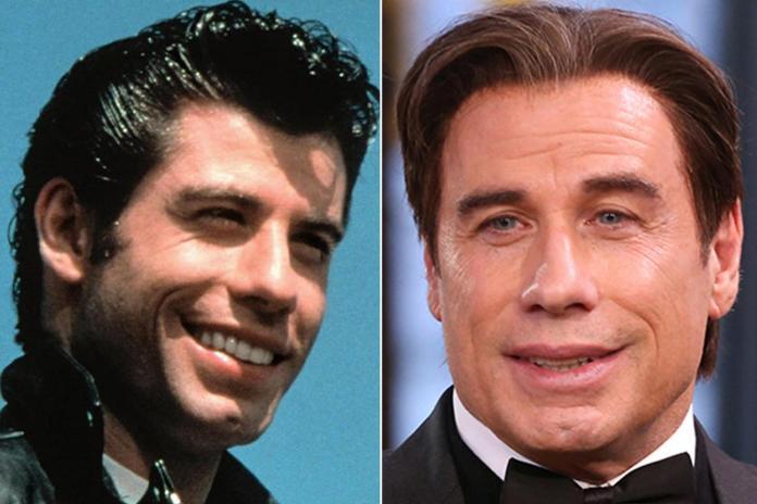 John Travolta has tried to hold onto his youthful looks