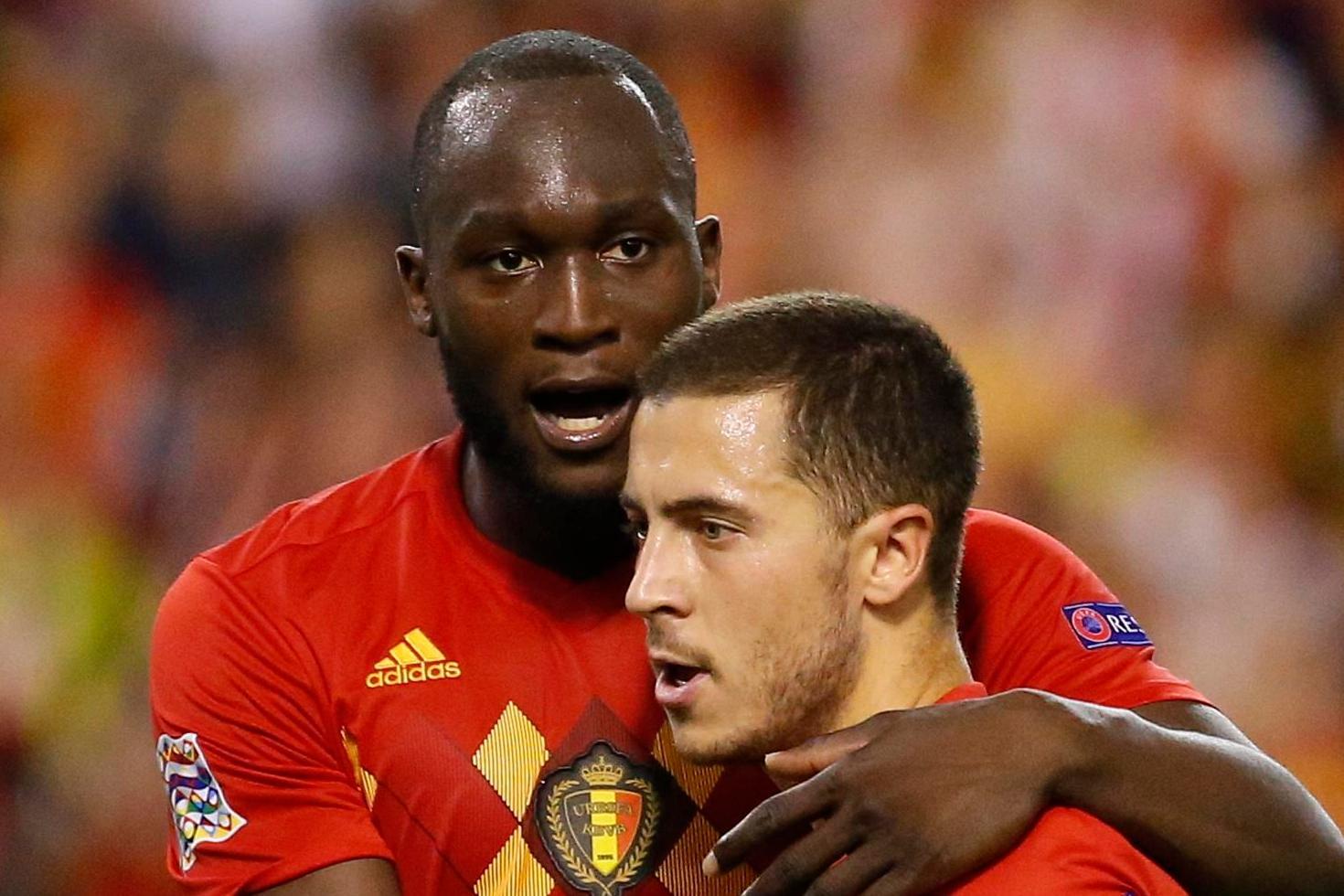 Belgium 2 Switzerland 1: Romelu Lukaku scores twice as Roberto Martinez's men go top of Nations League group