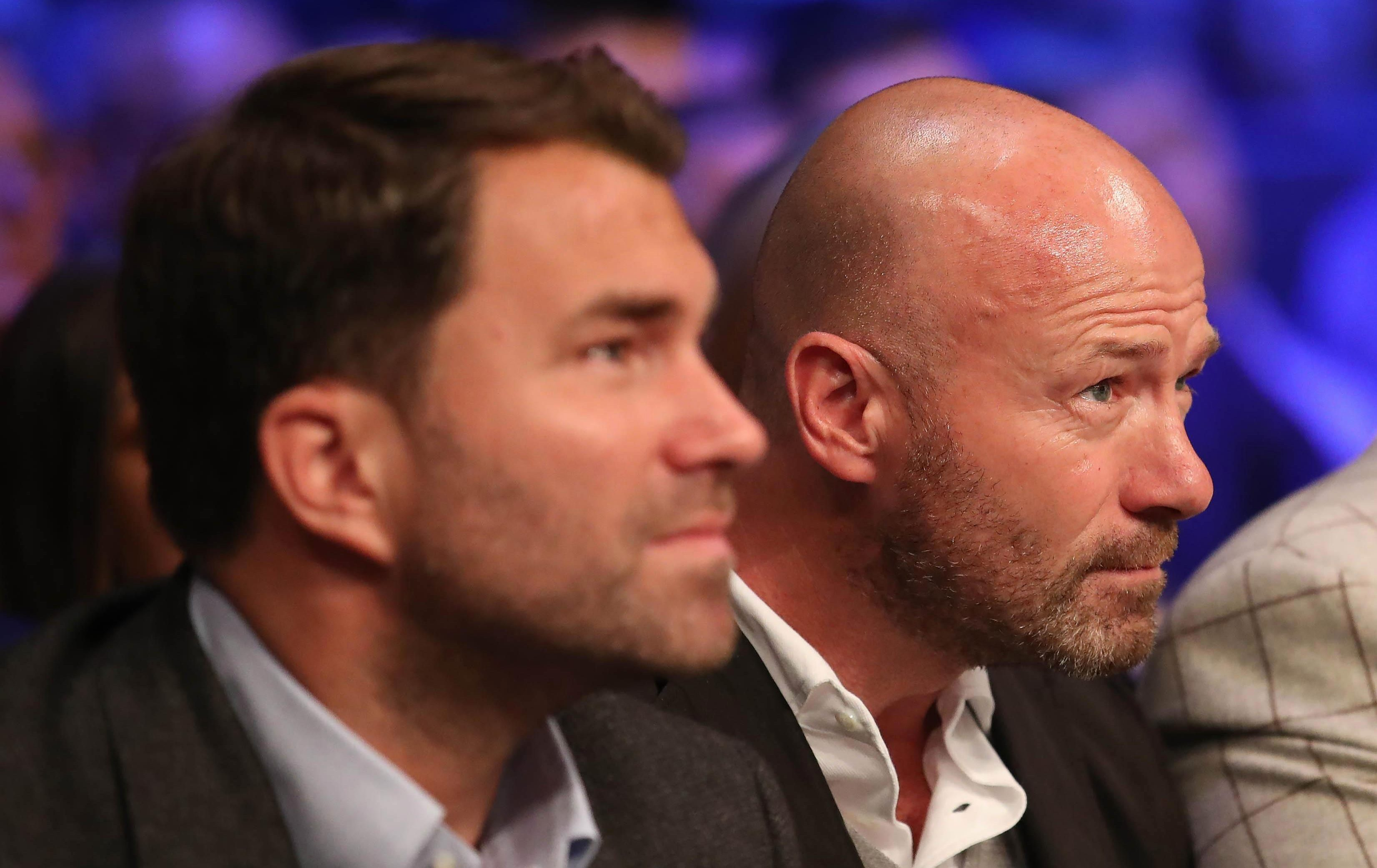 Alan Shearer was ringside to watch Lewis Ritson fall short in his European bid