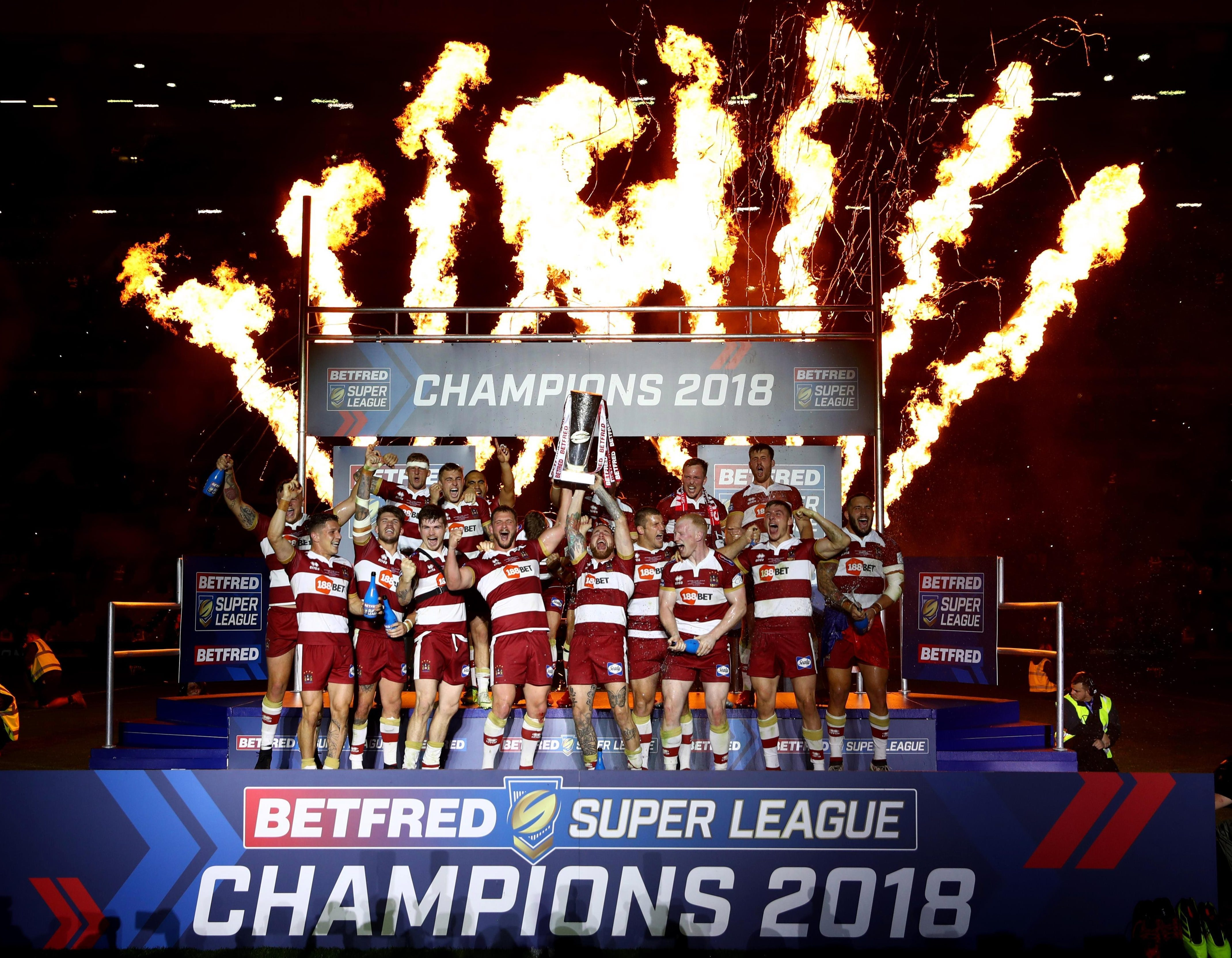 It was a night of celebrations for Wigan after their third Grand Final joy
