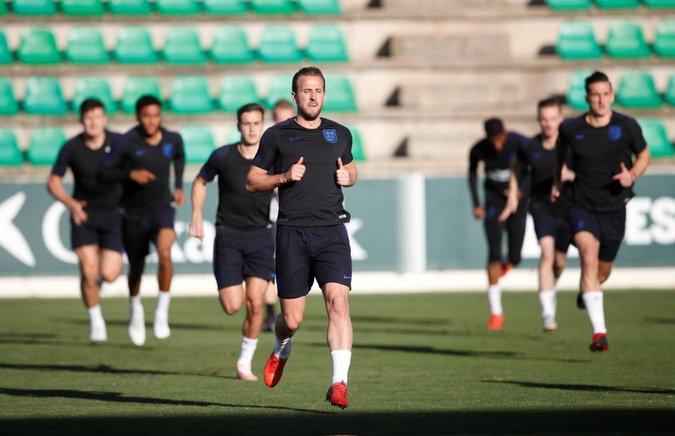 The striker will lead England out for their Nations League clash against Spain on Monday