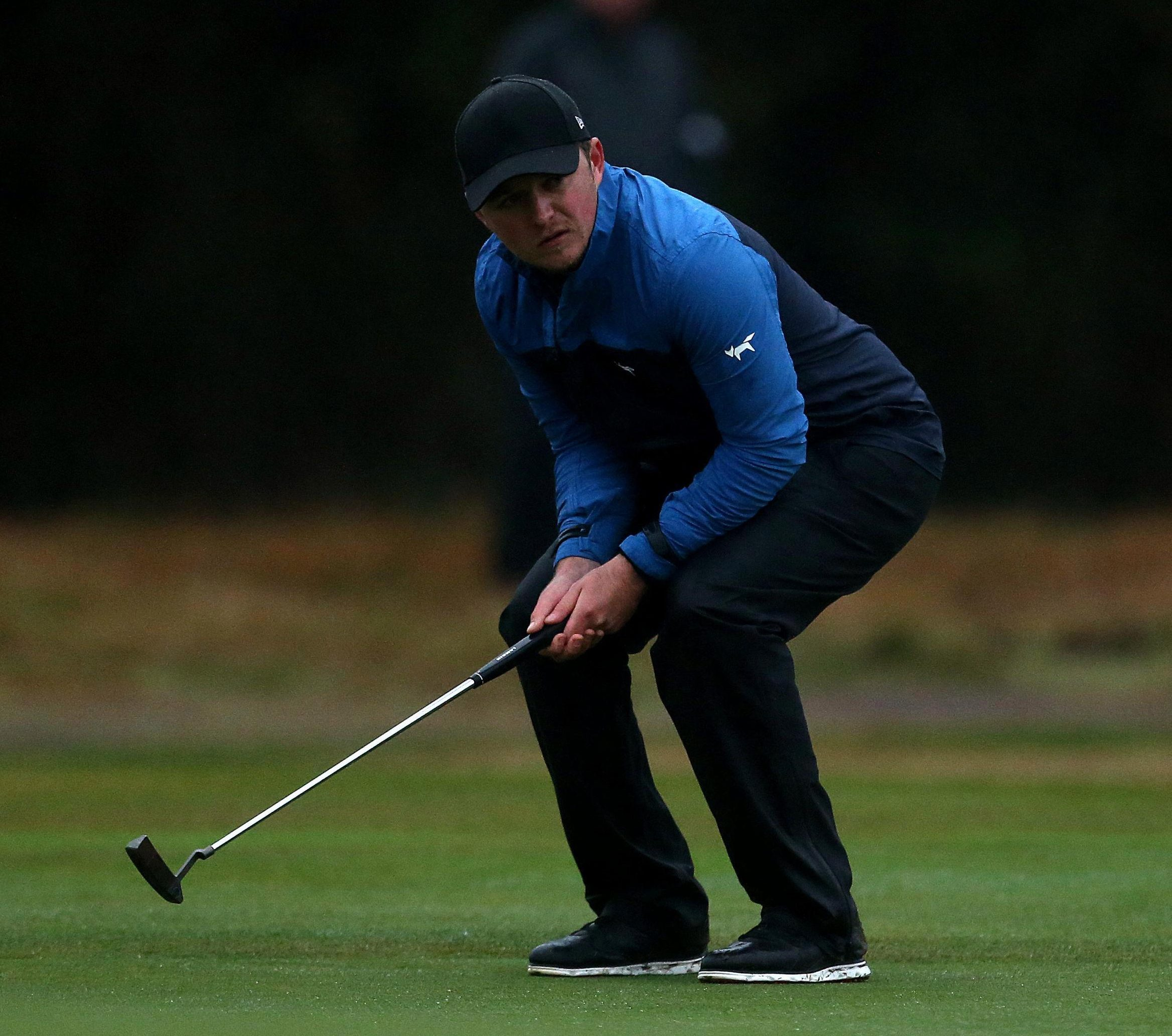 Eddie Pepperell found cold comfort when his mum gave him mittens for his hands
