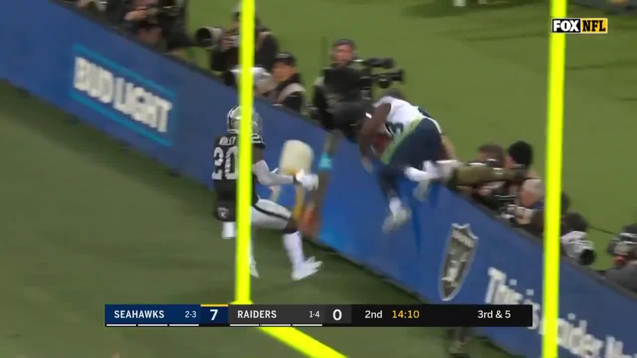 There was no stopping Moore as he went over