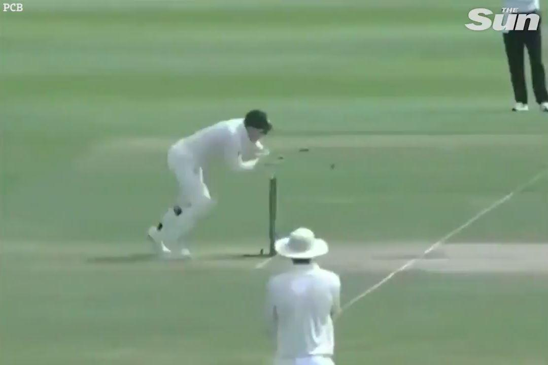 Tim Paine was left to simply whip off the bails in a ridiculous run-out