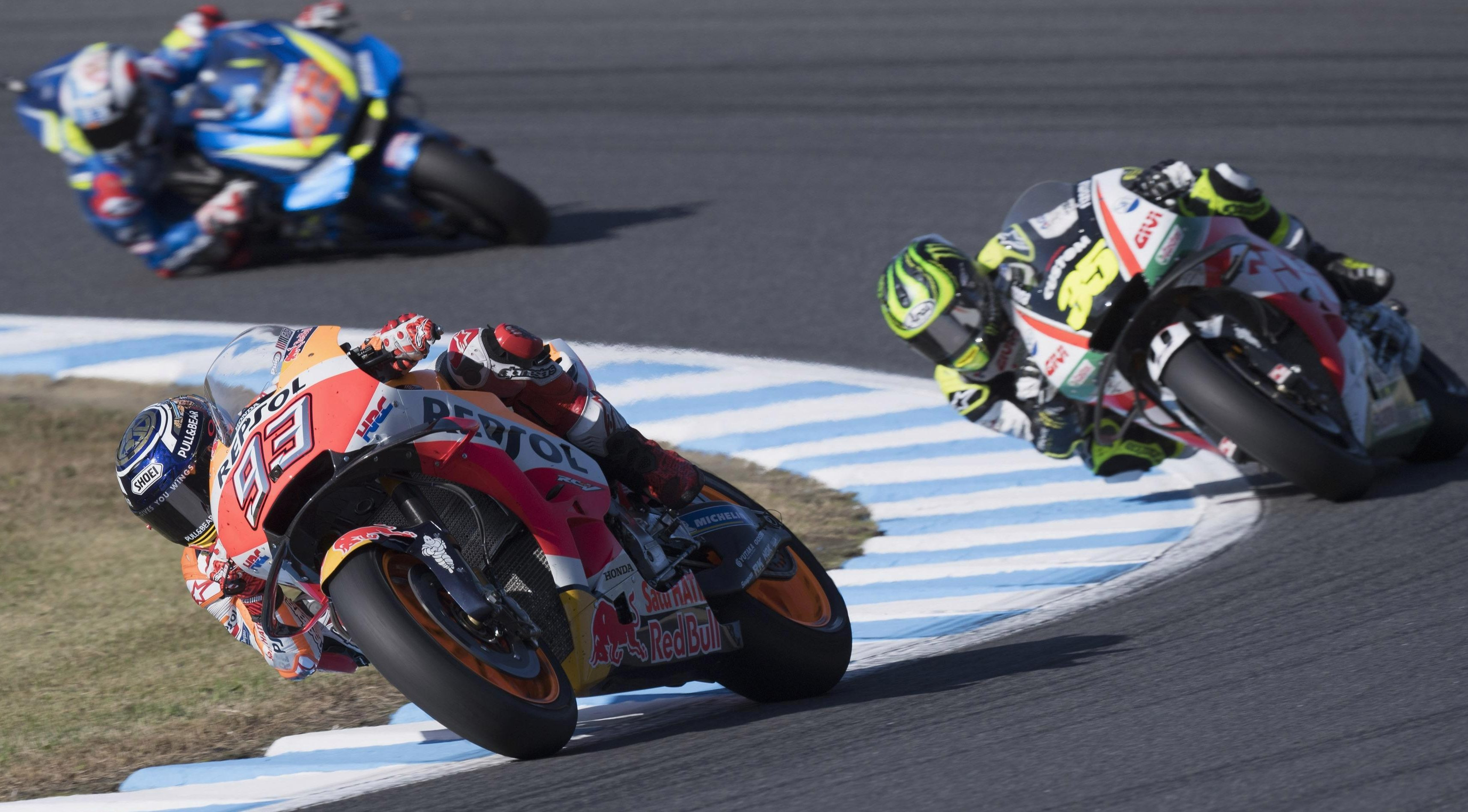 Marquez wrapped up his eight win of the season last weekend