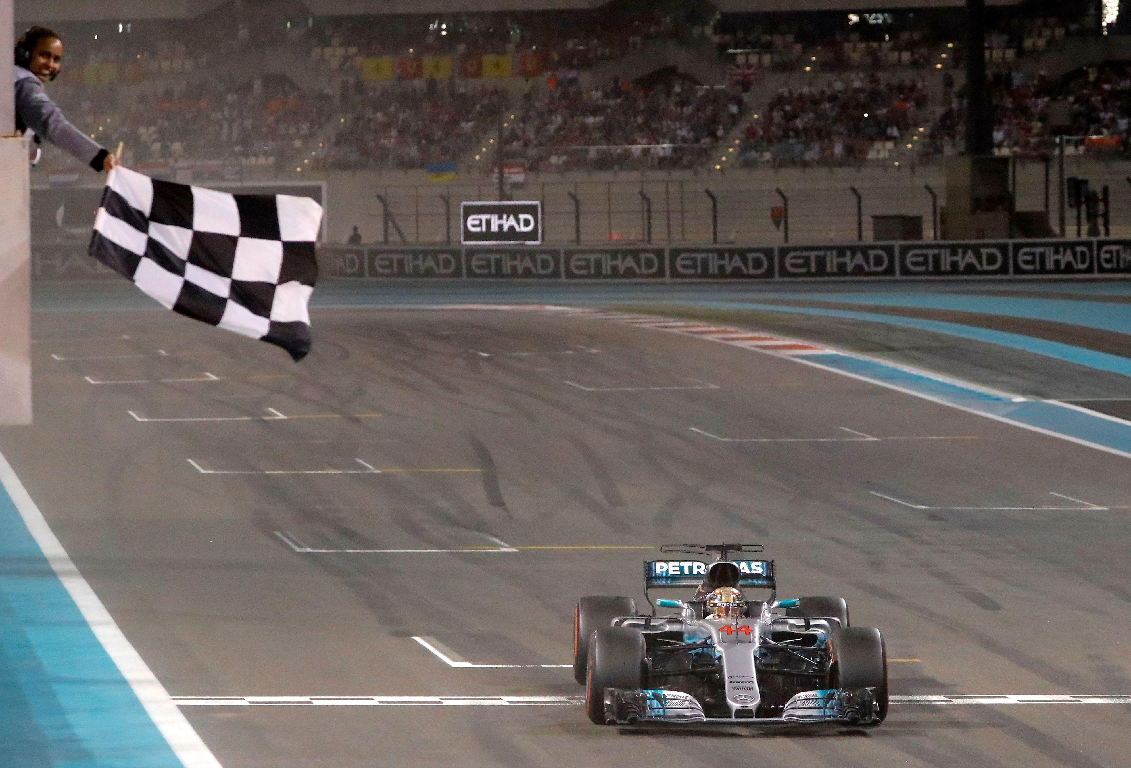 The chequered flag has been a long standing tradition to end Formula One races