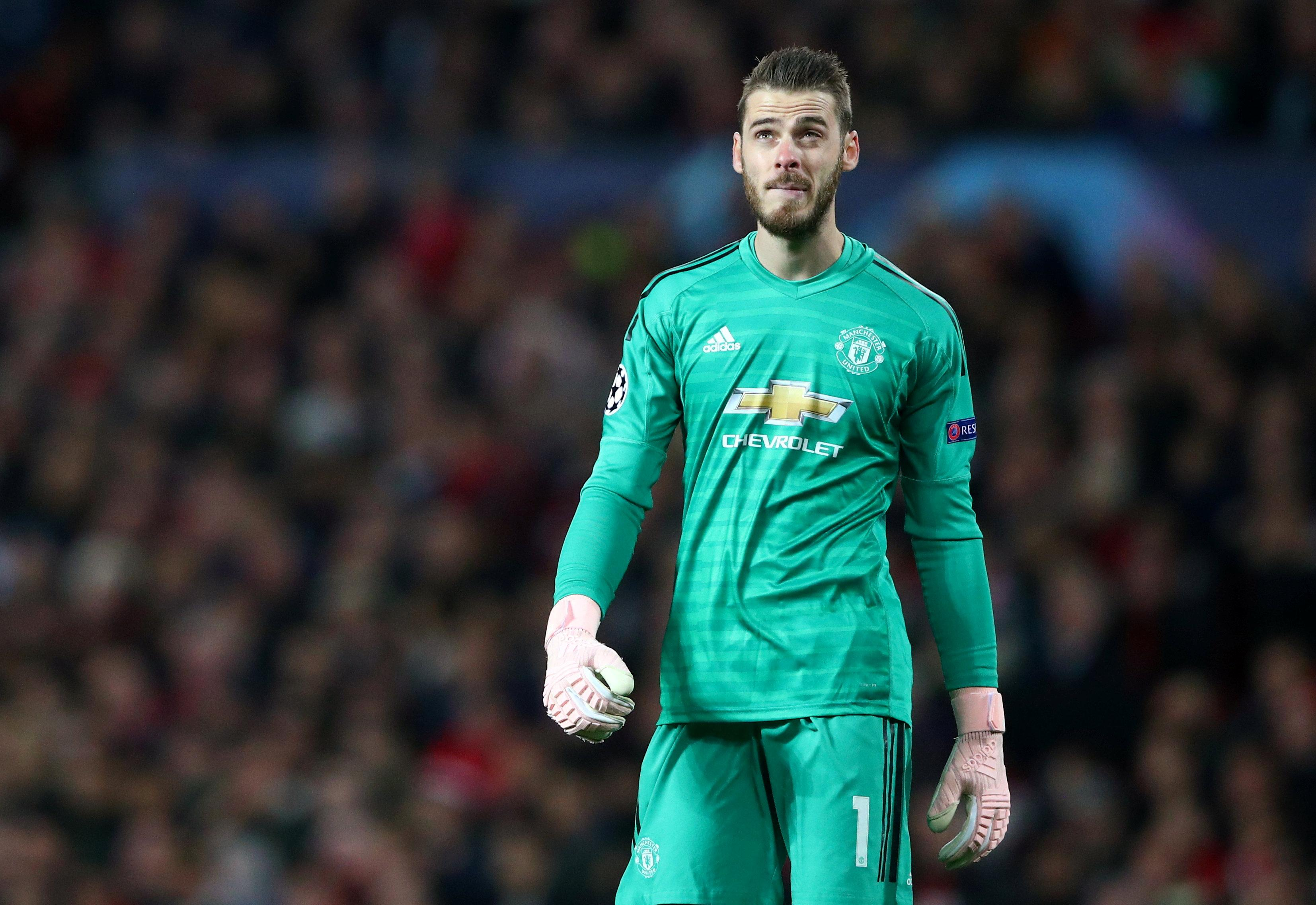 David De Gea is currently in discussions to extend his contract at Manchester United