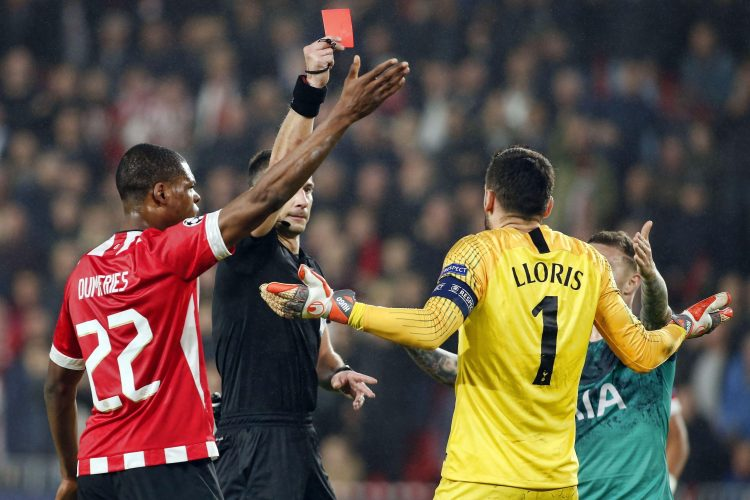 Hugo Lloris' sending off in the Champions League draw at PSV merely added to some big problems at Spurs