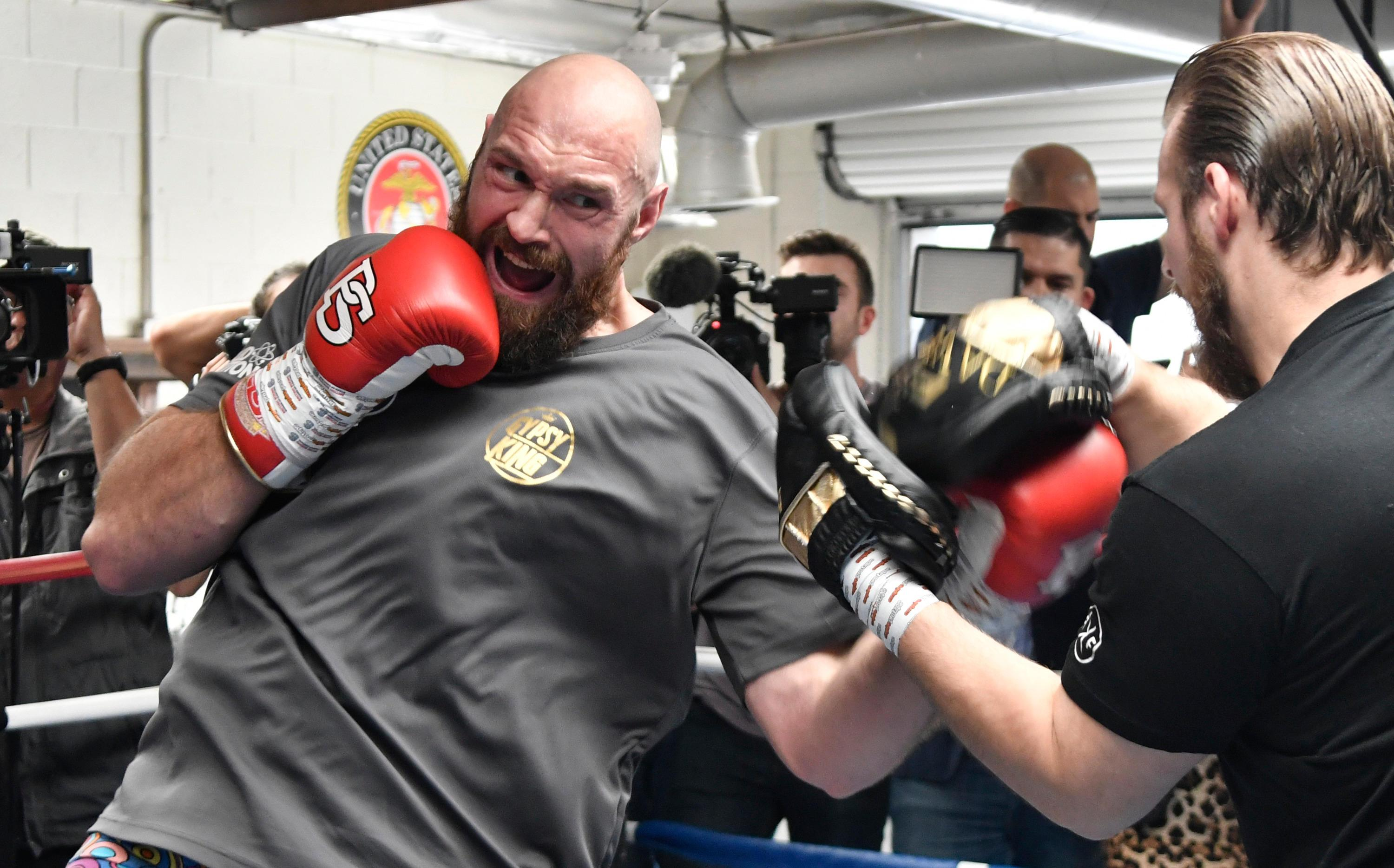 Tyson Fury is back in peak shape for his world title shot at Deontay Wilder in December