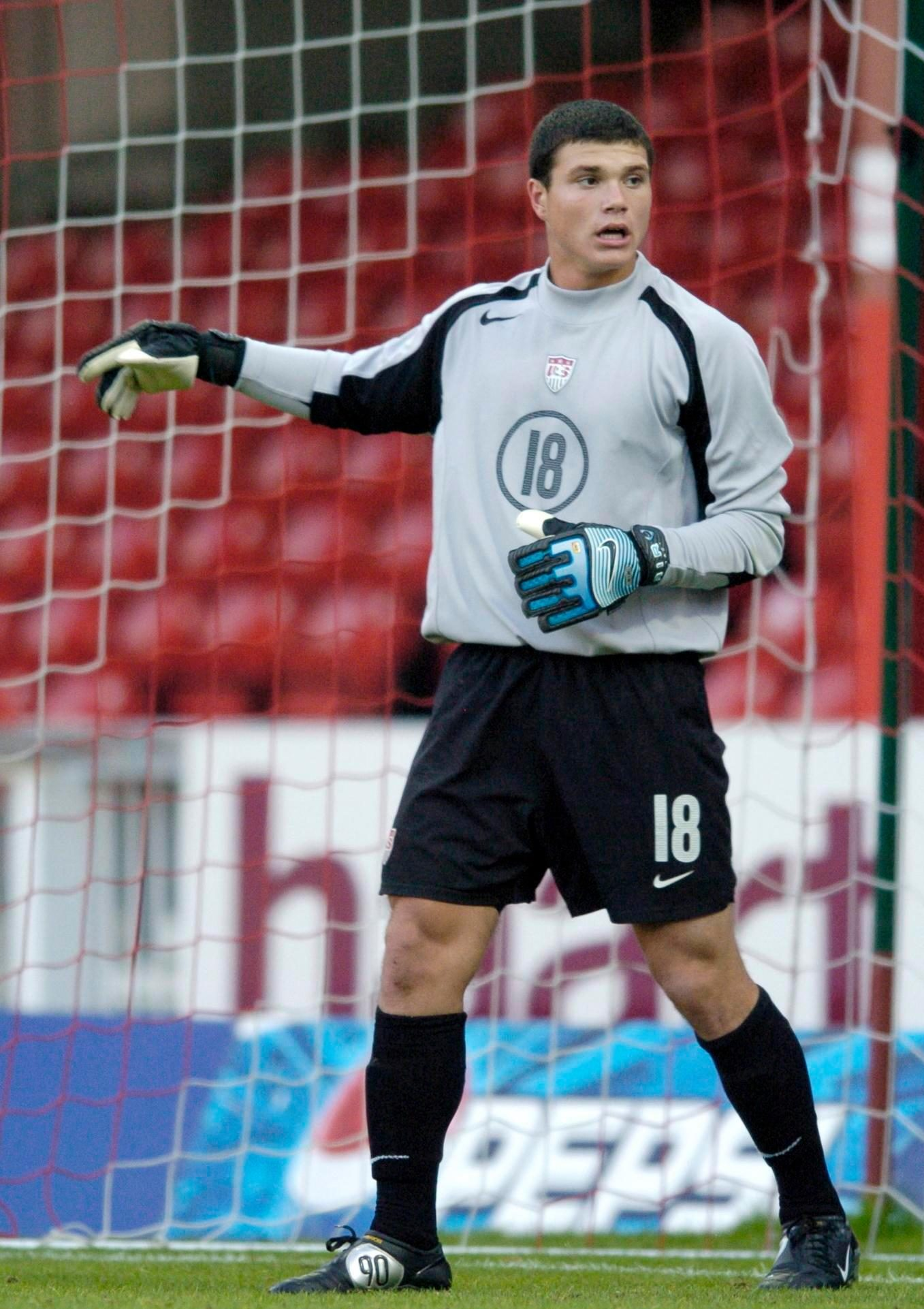 Josh Lambo was an under-17 USA international goalkeeper, having trials at Everton and Sheffield United