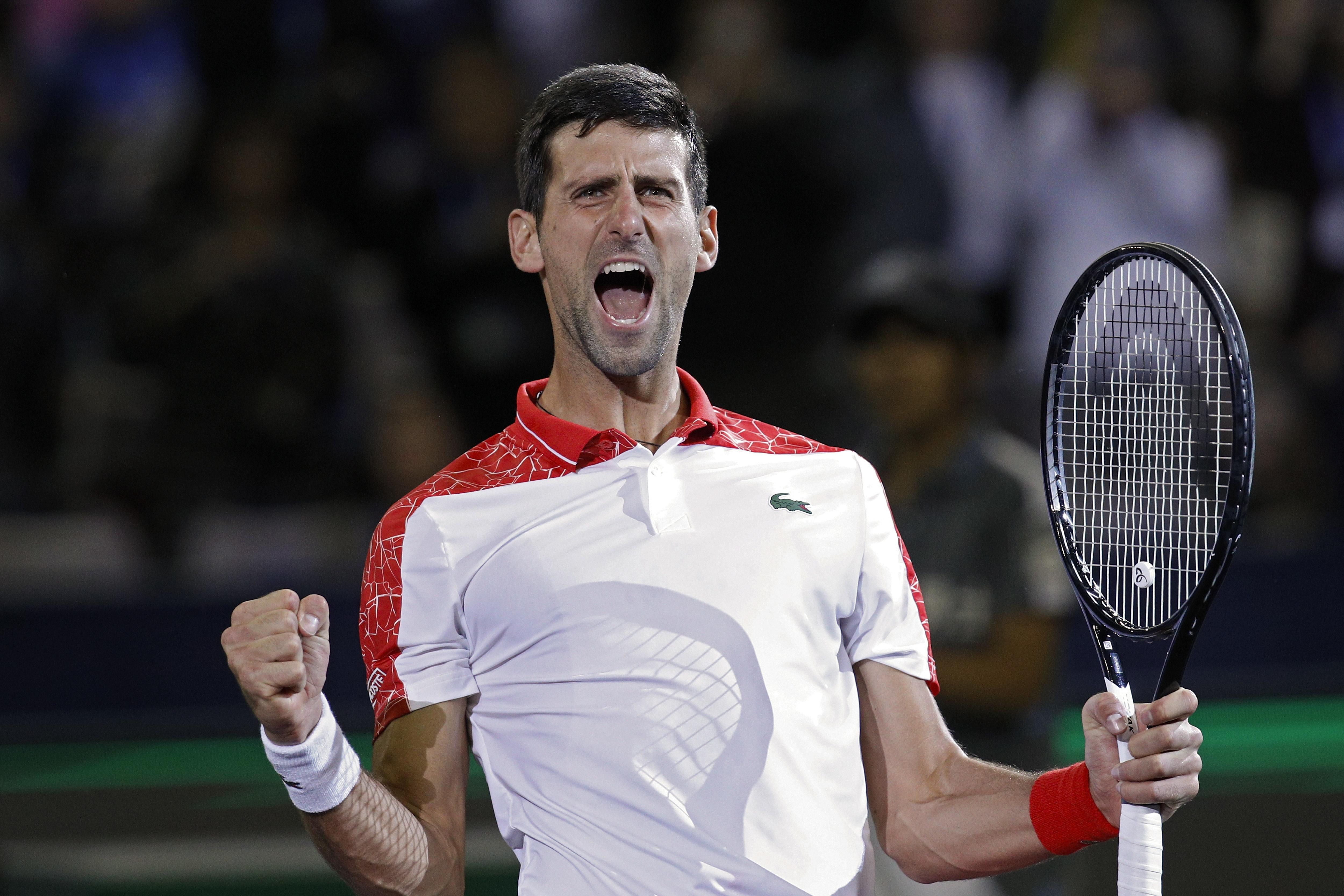 Djokovic said he did not want to to involve himself in 'political exchange'