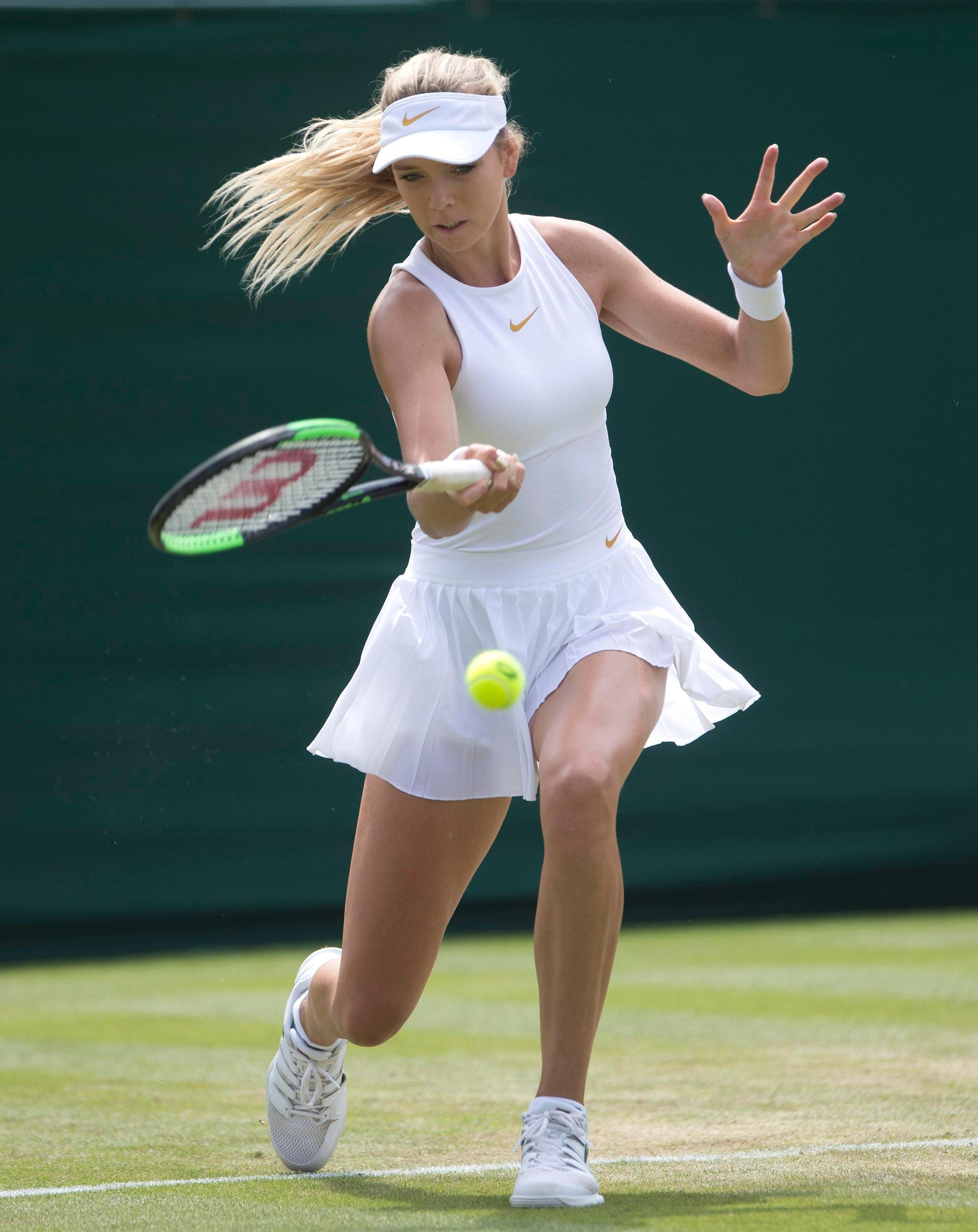 The 22-year-old is on the verge of reclaiming her spot as Britain's No.2 female tennis star
