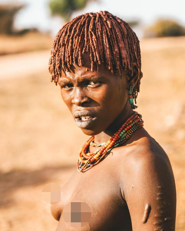 Hamar women are said to take part in the whipping ceremony so that they have a say in who they marry