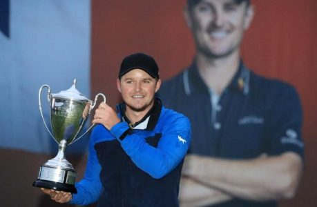 Eddie Pepperell defied his reputation for steady play to win the Scottish Masters