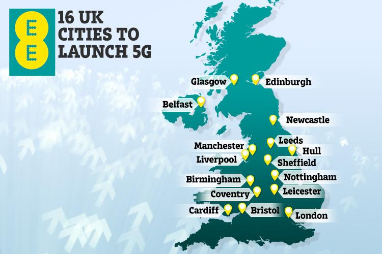 Is super-fast 5G in YOUR area? Here's how to find out if you can get