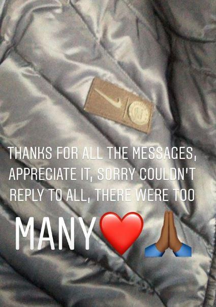 Callum Hudson-Odoi thanked his followers for their 18th birtday well wishes