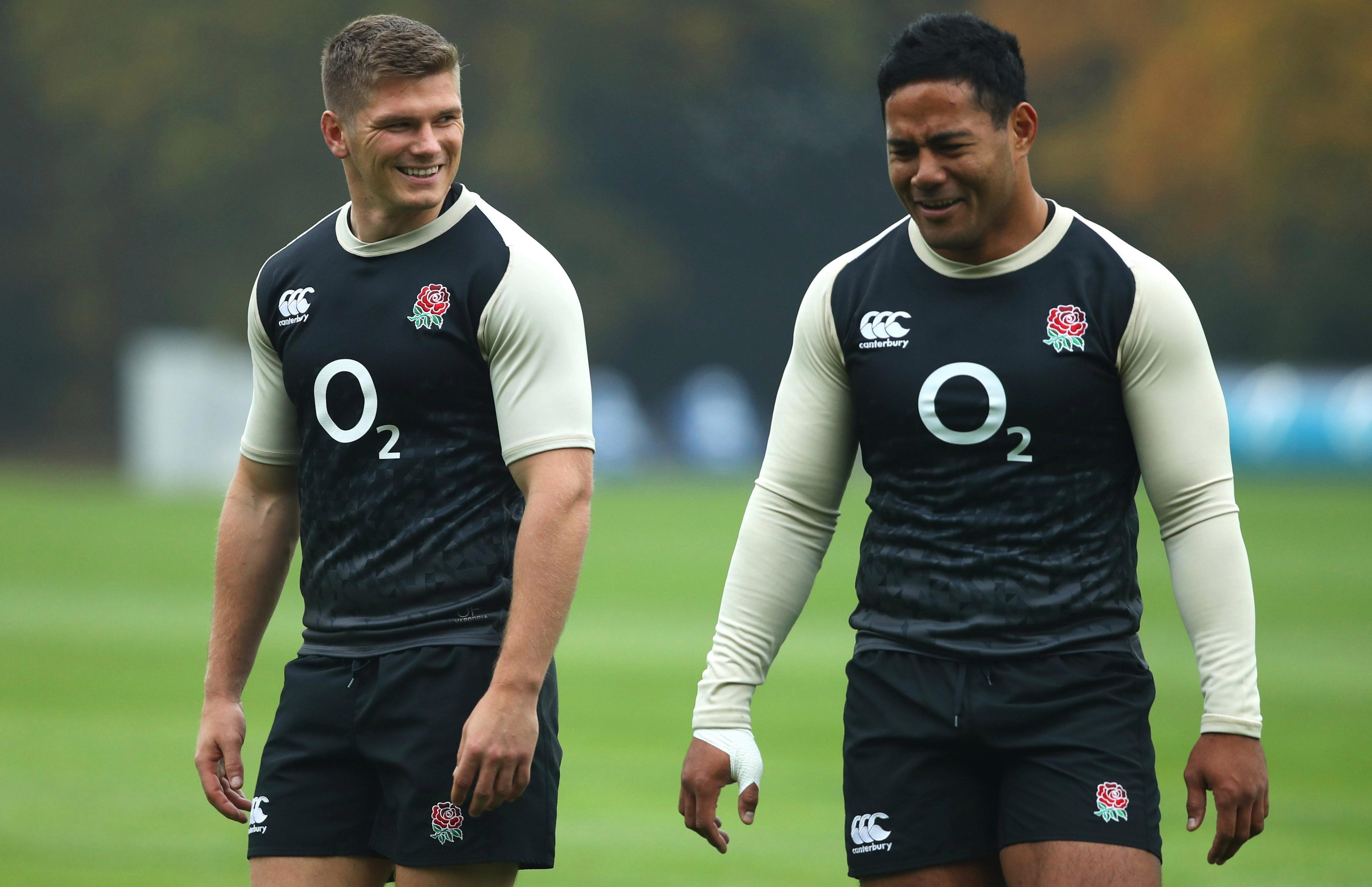 The All Blacks might want to know who these two are. . .