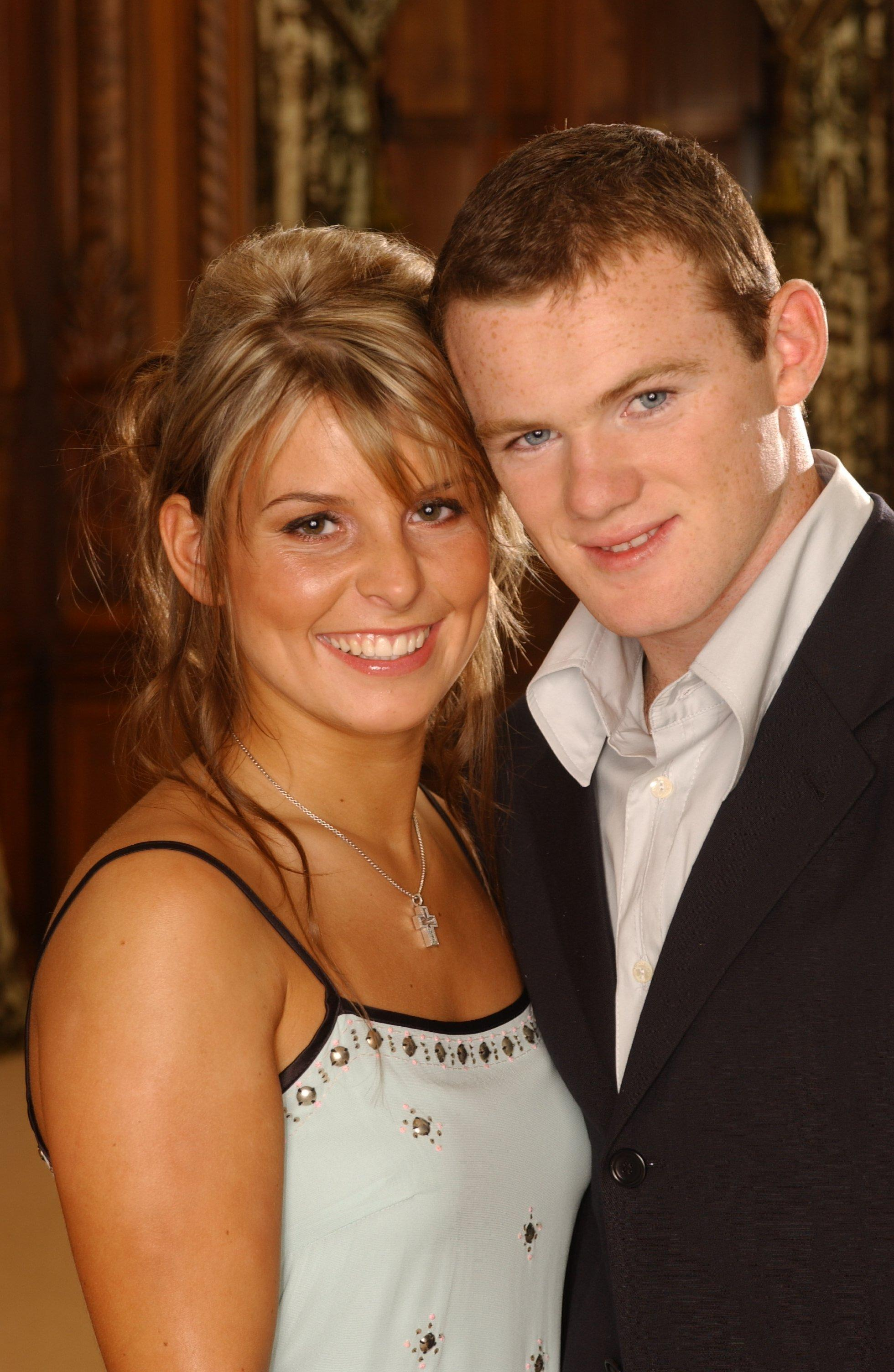 Rooney offered to mend Coleen's bicycle when they met