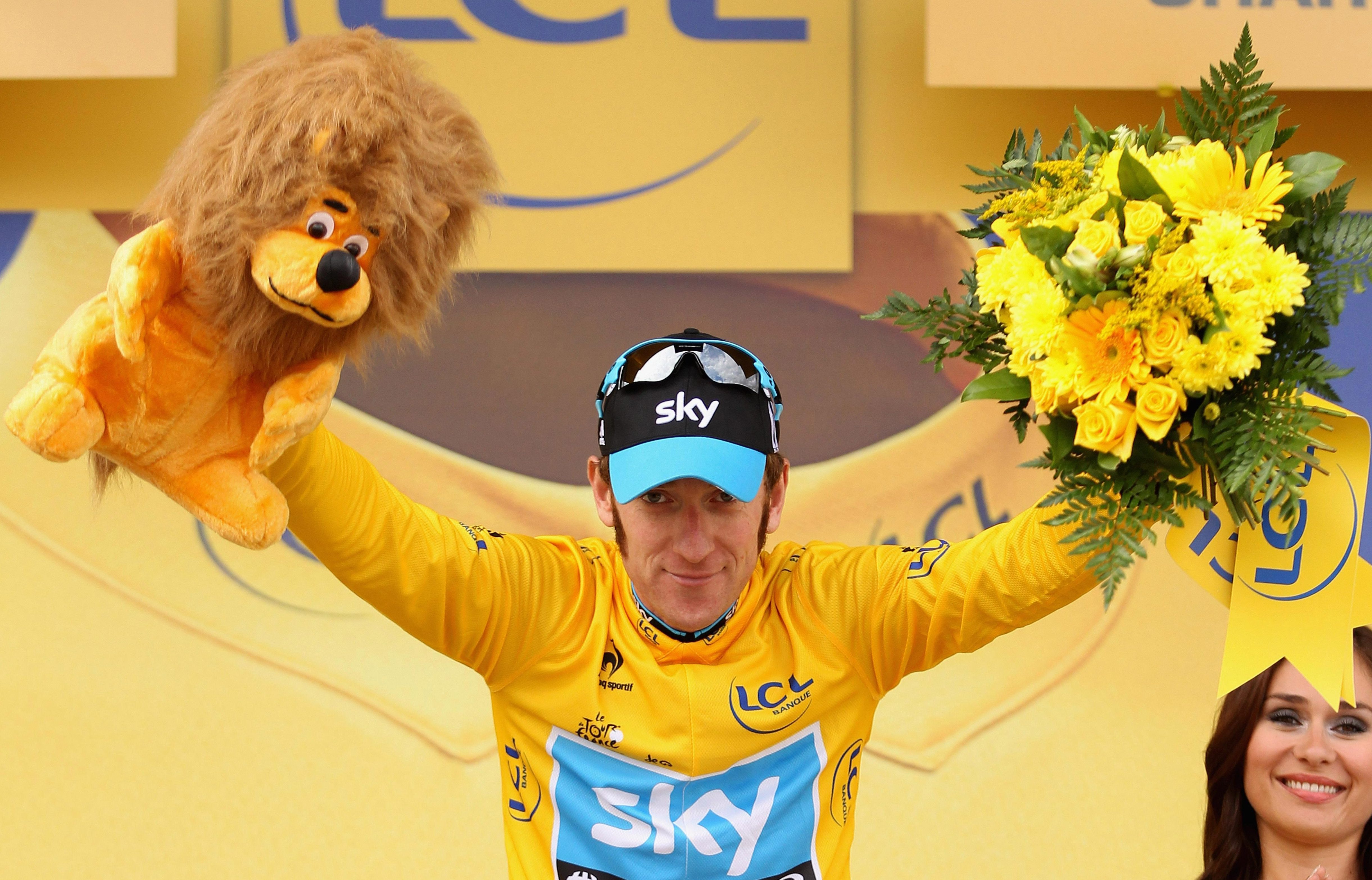 Wiggins won the Tour de France with Team Sky in 2012 but has since fallen out with Sir Dave Brailsford