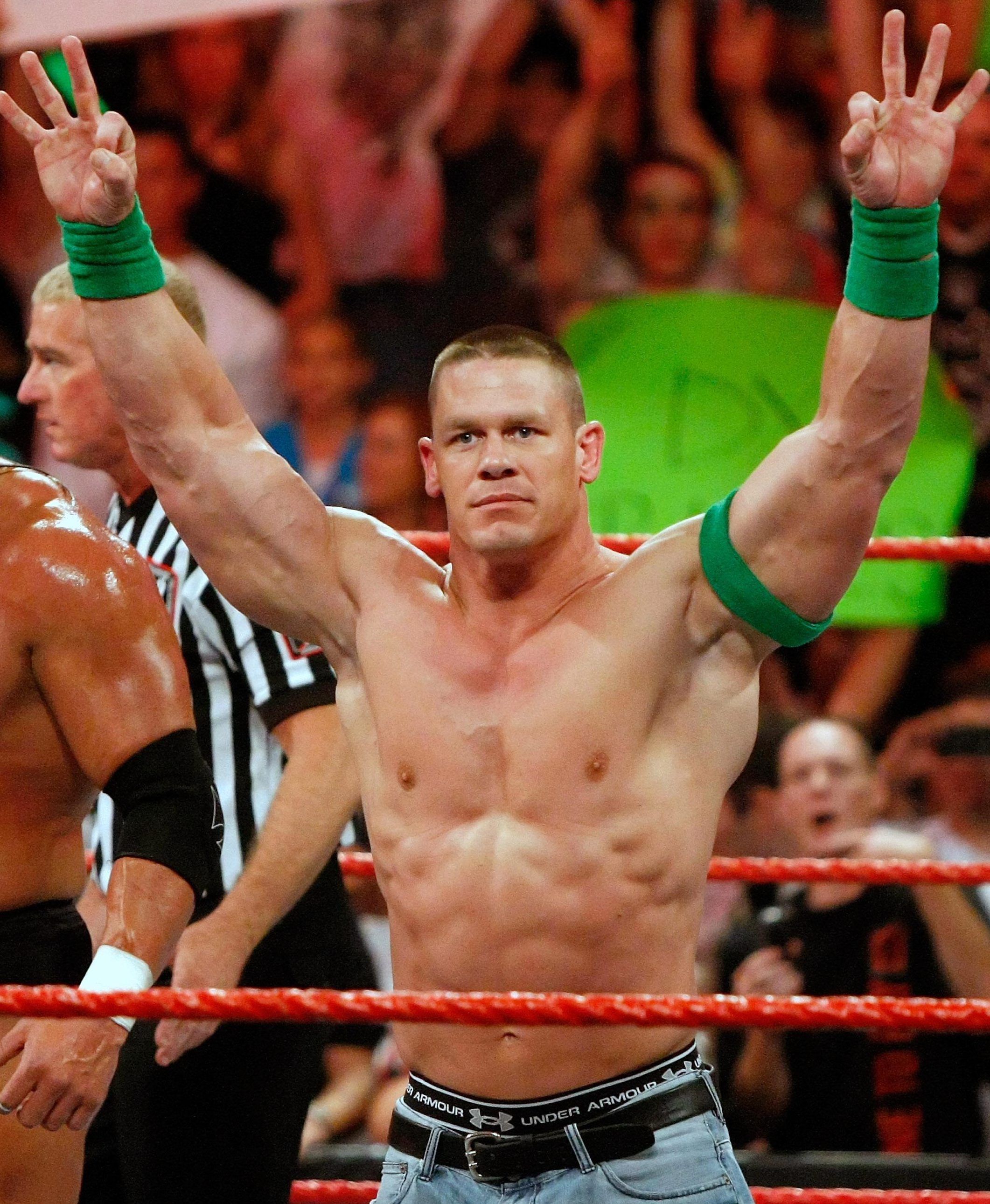 John Cena decided not to grapple at the Crown Jewel in Saudi Arabia