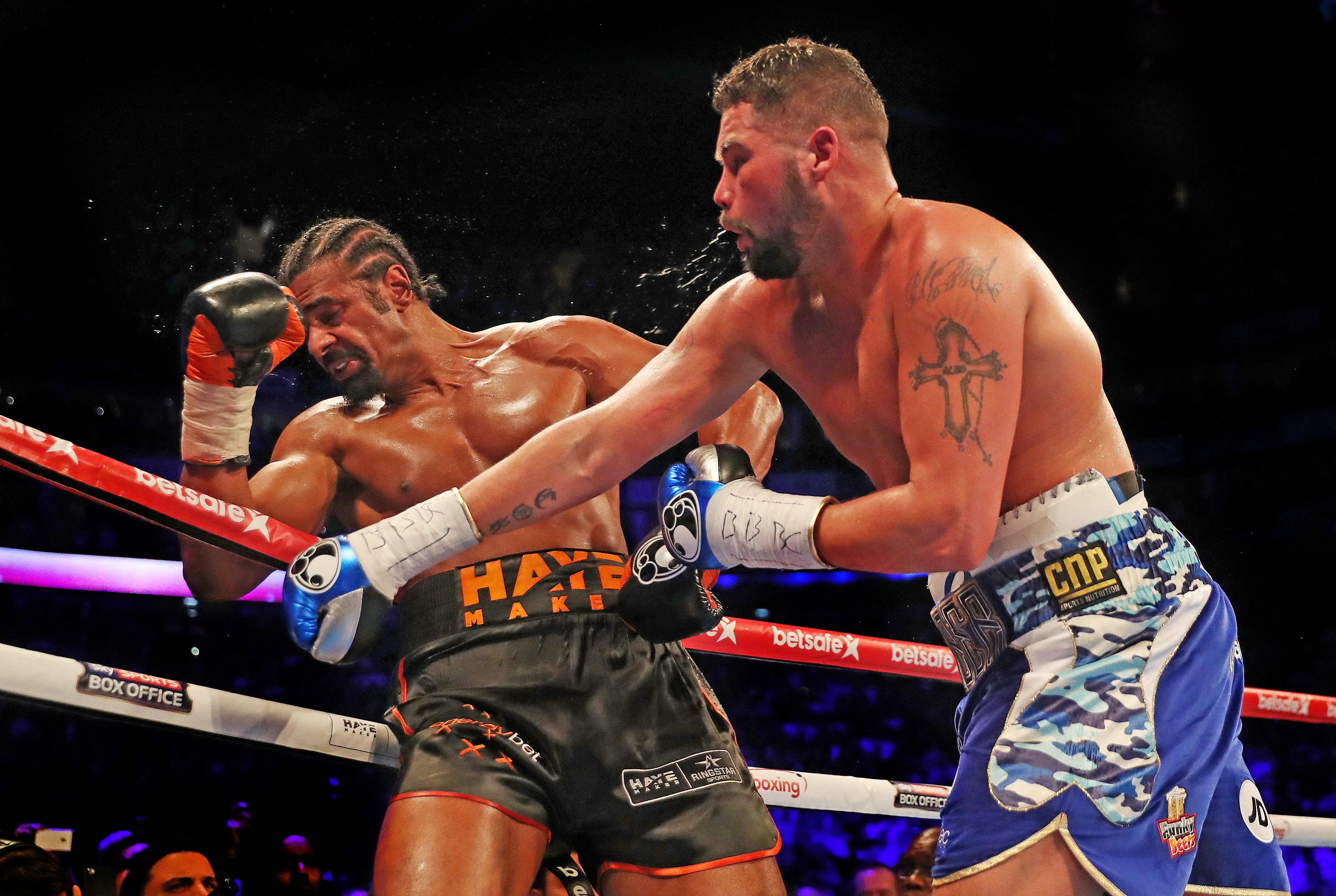 Bellew was a 6/1 underdog coming into the first fight