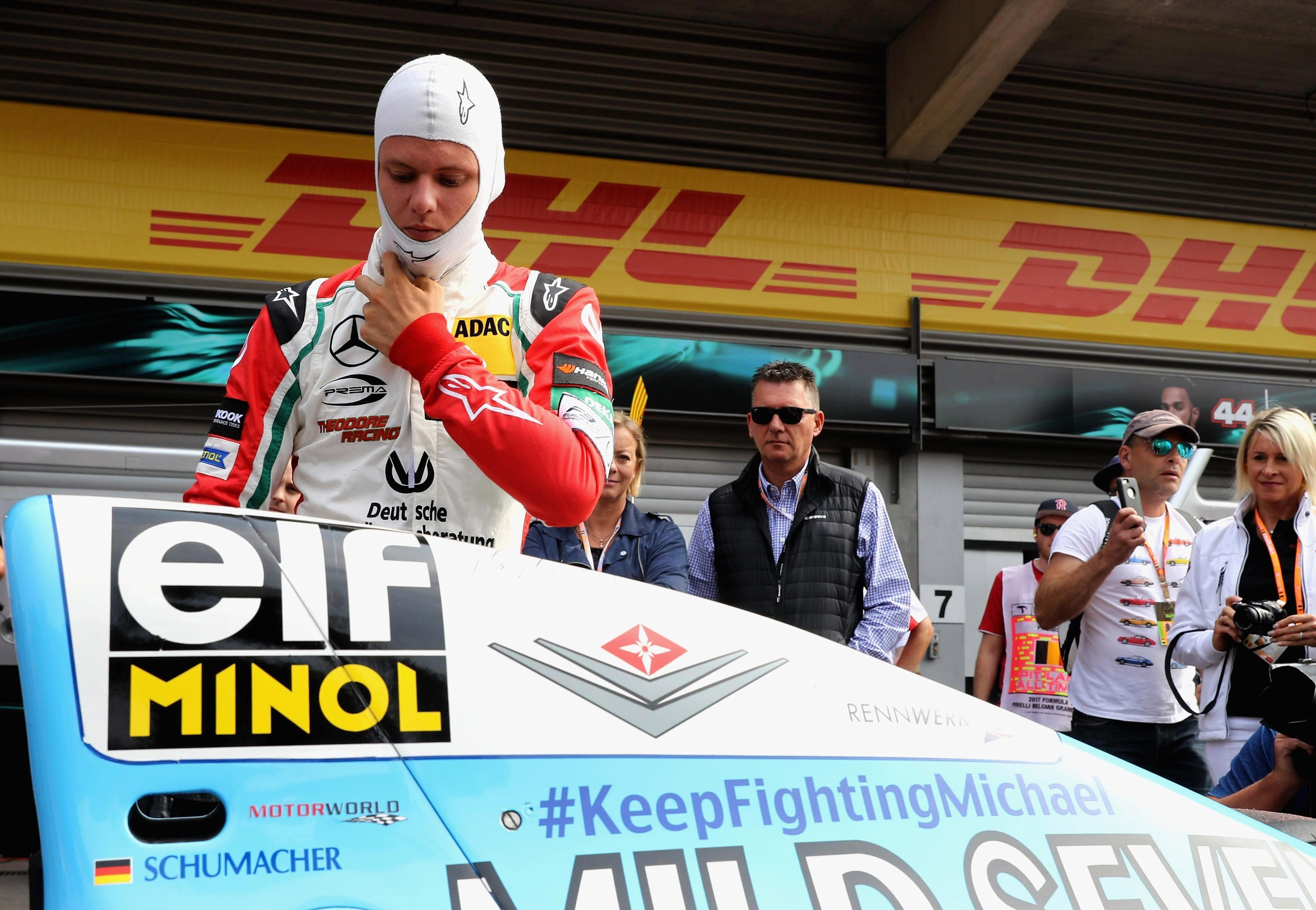 Mick Schumacher has aspirations of following in his fathers footsteps