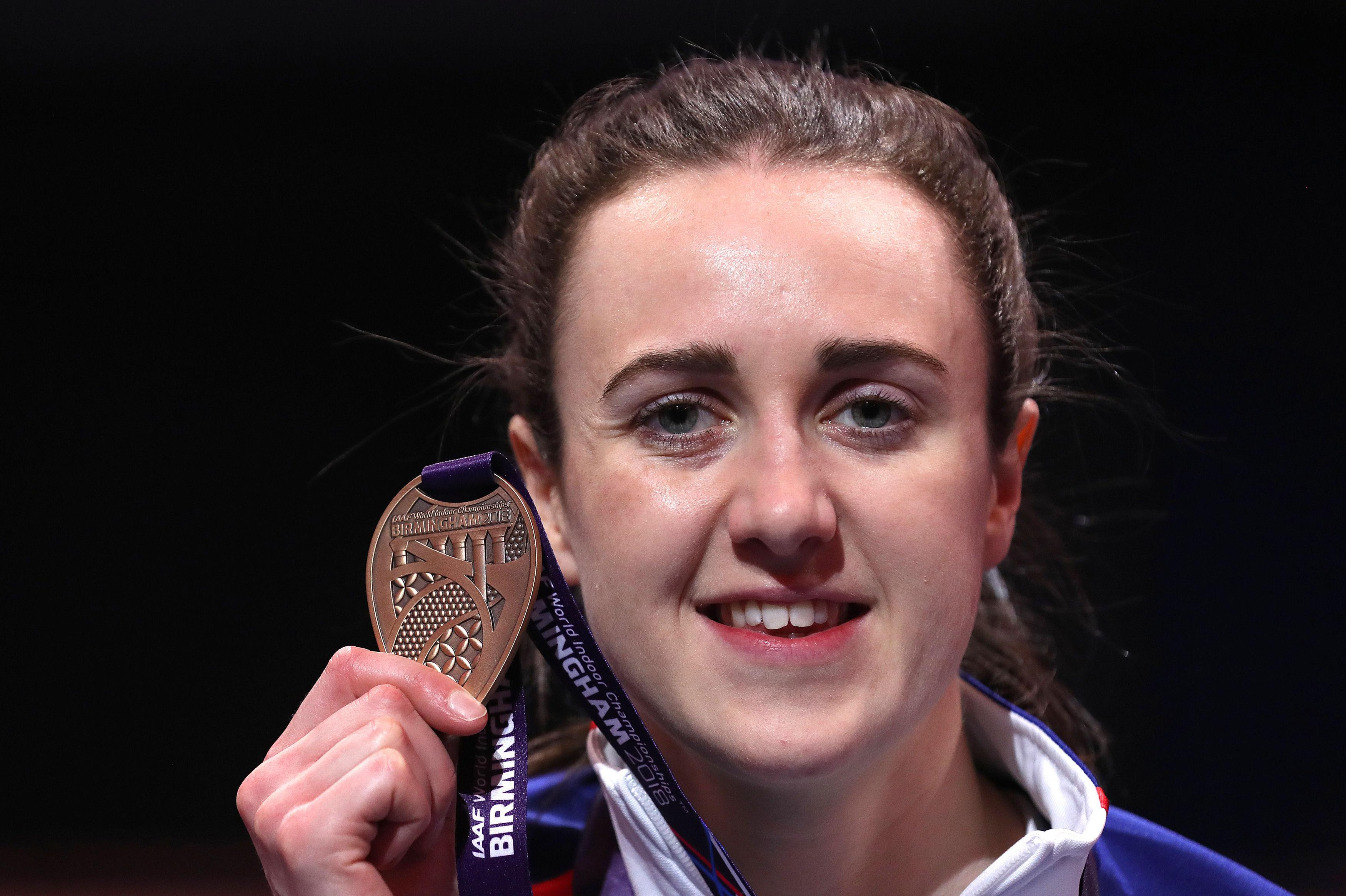 Muir, 25, was born in Inverness and could soon be representing Scotland over Great Britain