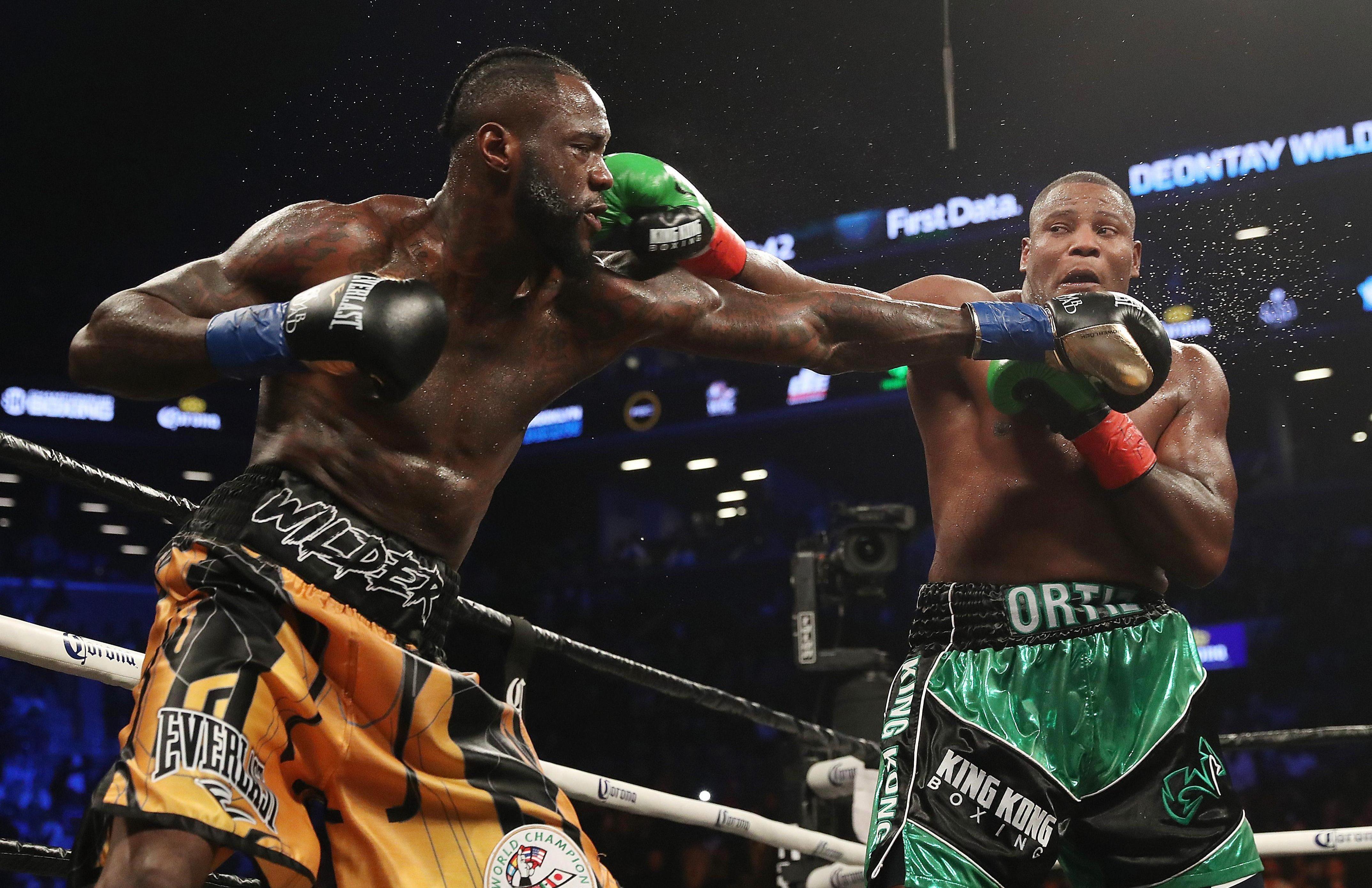 Unbeaten American Wilder has ranked former foe Luis Ortiz ahead of Joshua