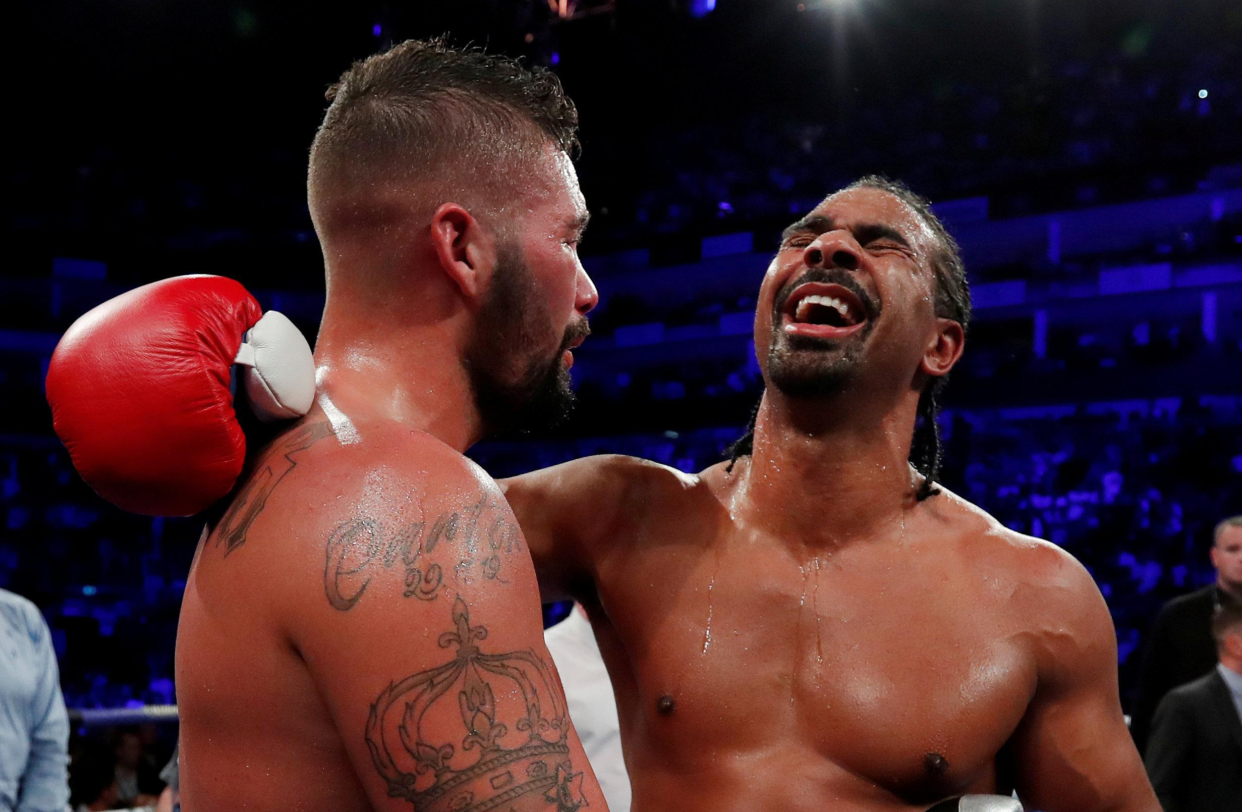 Haye and Bellew are now both retired from boxing