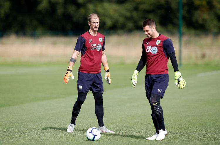 Heaton hasd been frozen out at Burnley since the arrival of Joe Hart