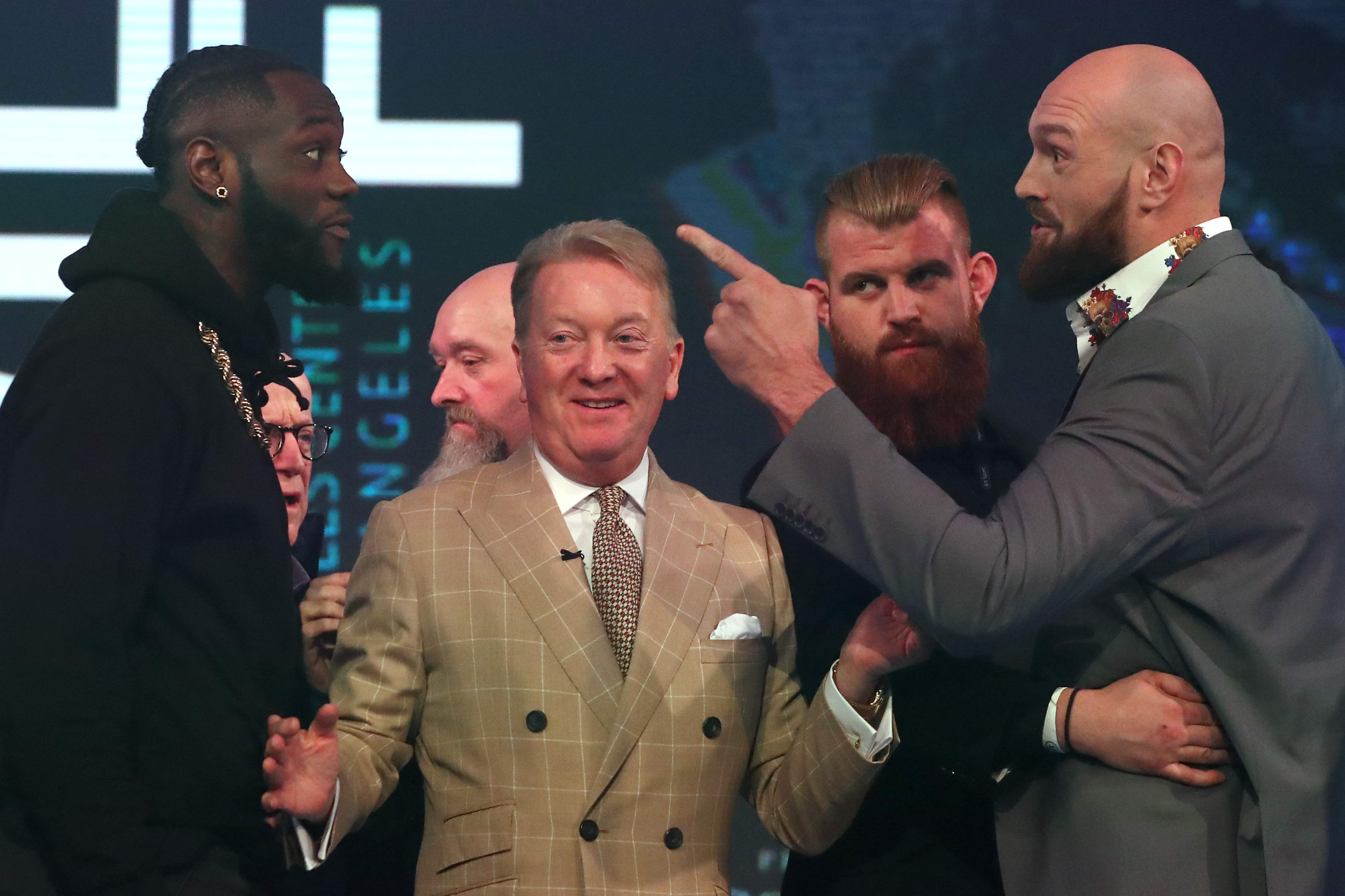 Frank Warren is currently in America where he is promoting Tyson Fury's December 1 bout against Deontay Wilder