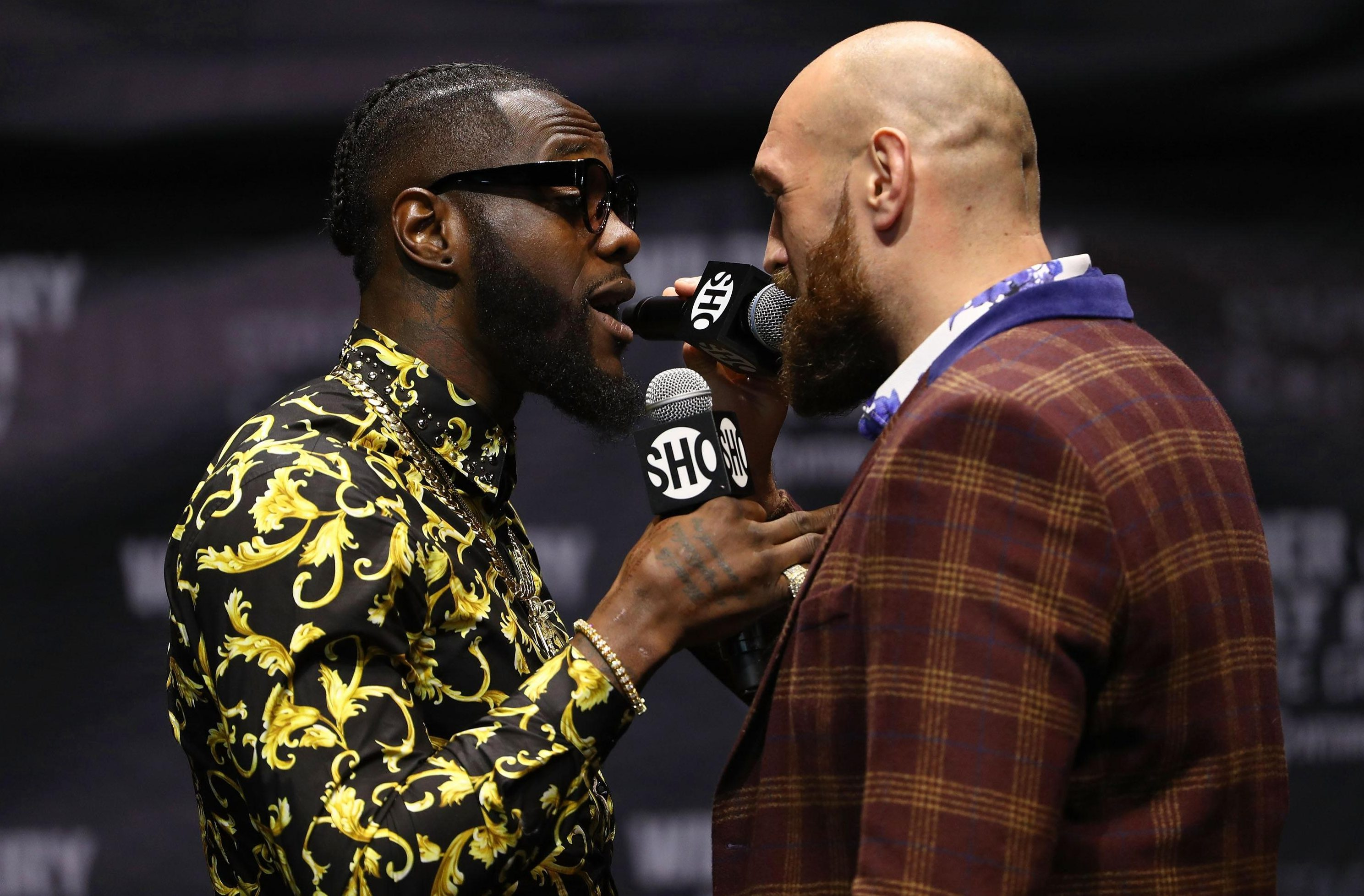 Wilder and Fury take each other on next month for the WBC belt