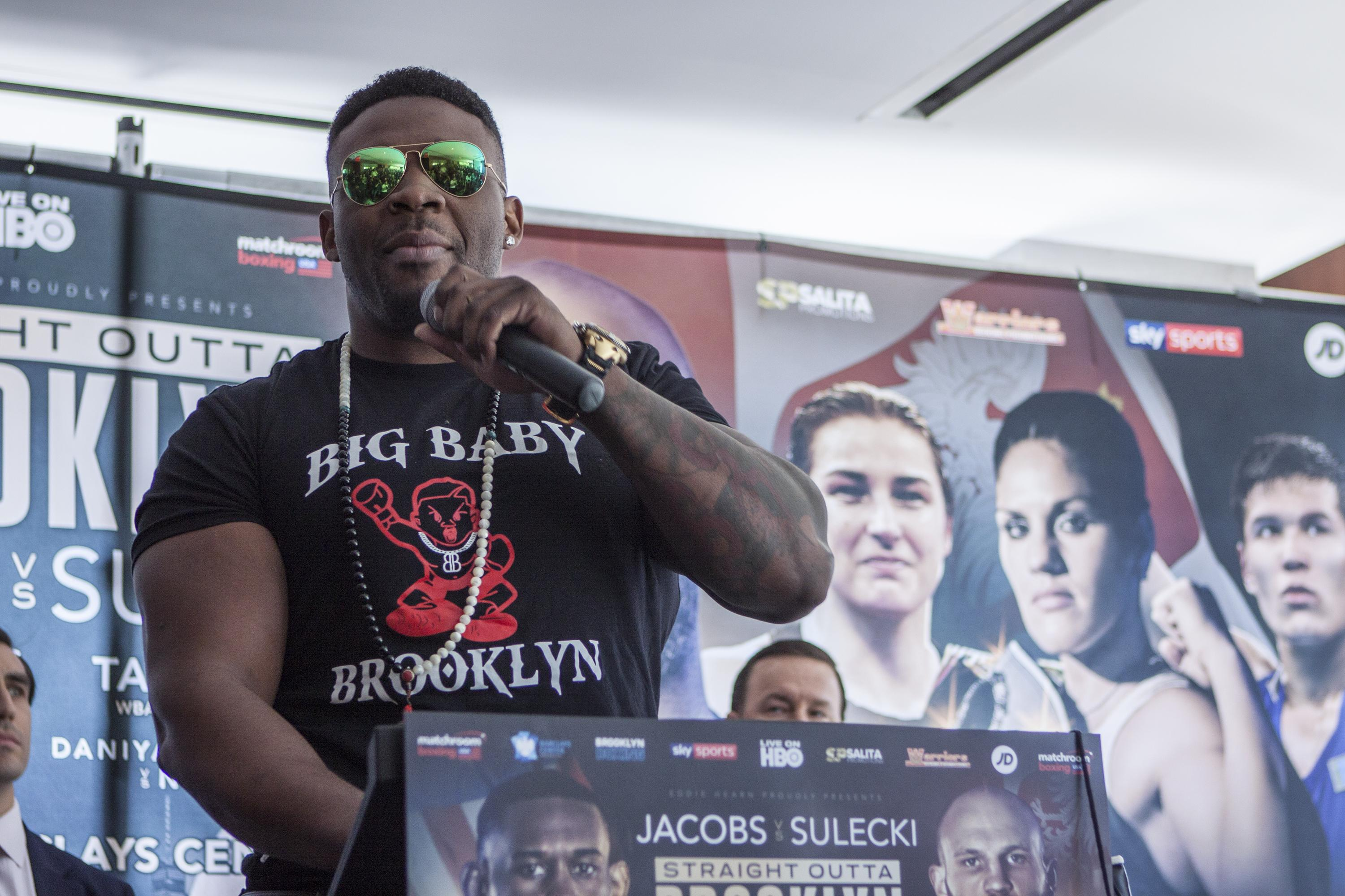 Jarrell Miller is undefeated and is seemingly intent on a fight against Anthony Joshua