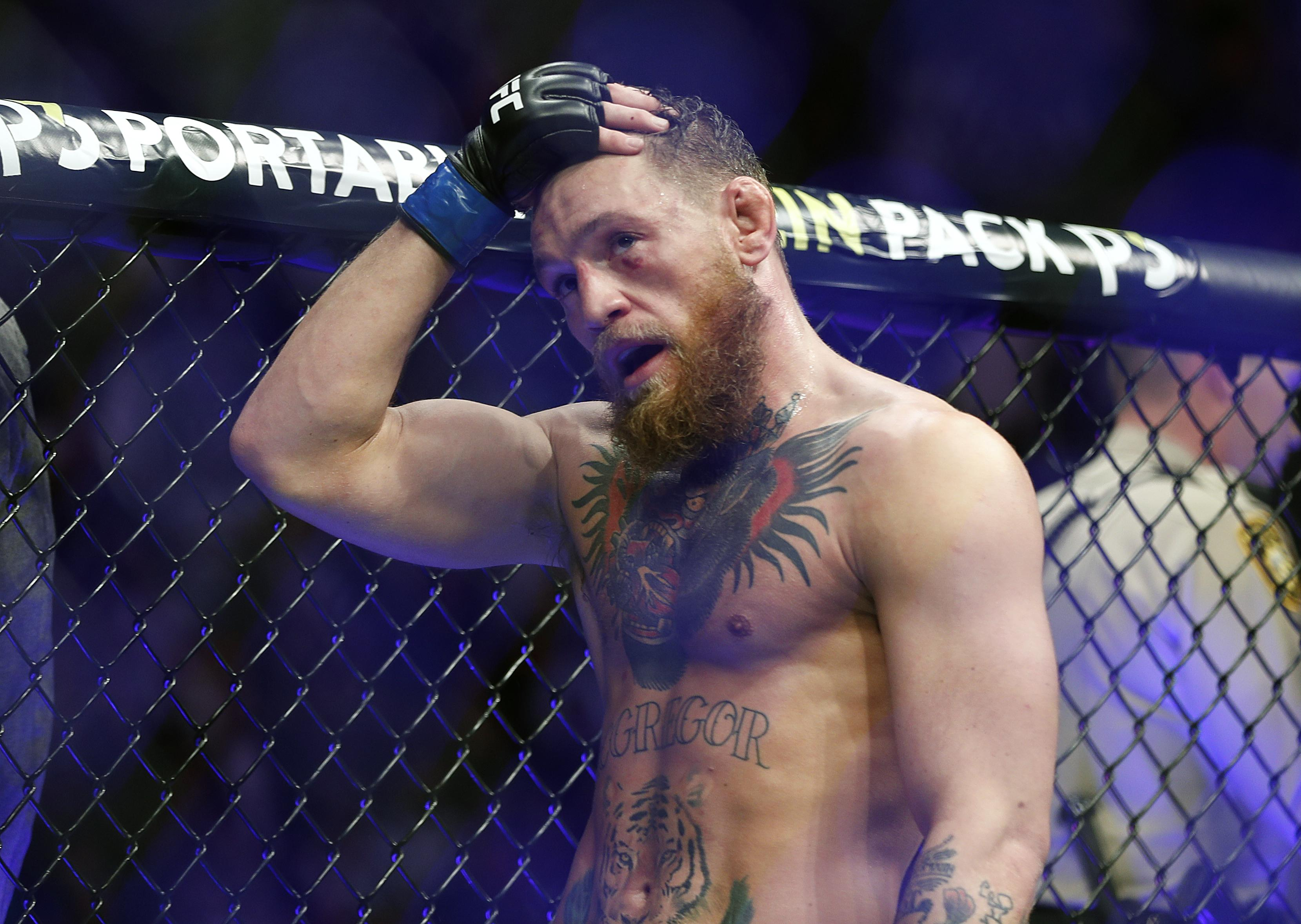 Conor McGregor says he will return to action in 2019