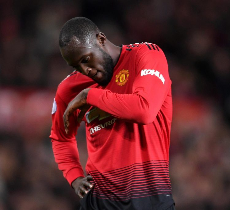 Romelu Lukaku has struggled to impress leading the Manchester United line this season and has not scored since September