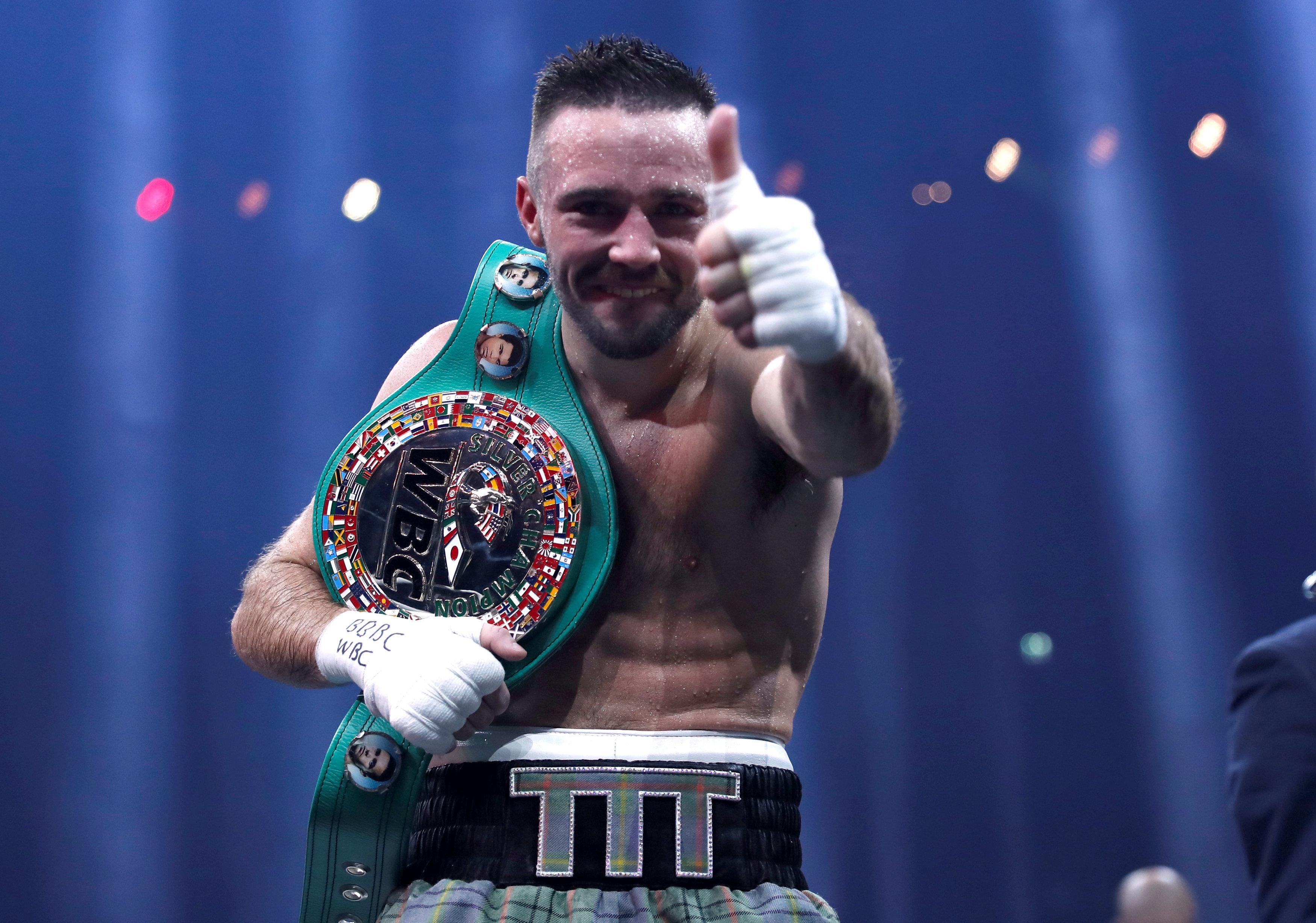 Josh Taylor celebrated Super Series win with Pizza and beer